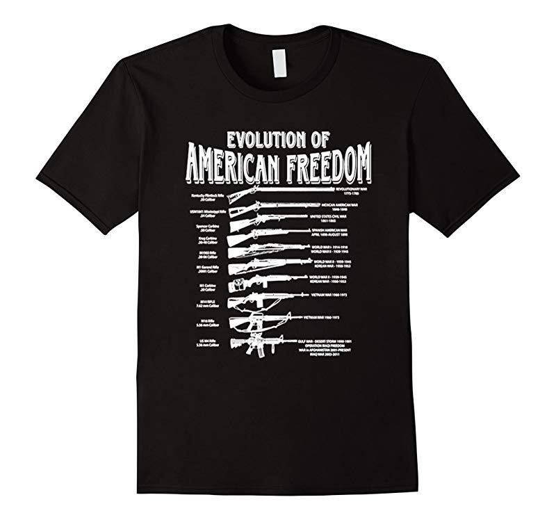 Evolution Of American Freedom Evolution Of Freedom T Shirt-axz