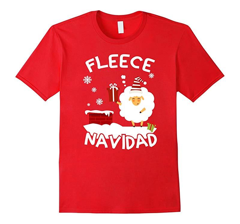 Zany Brainy Fleece Navidad  Funny Christmas Shirt-RT