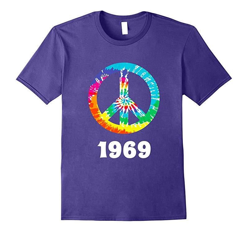 1969 Peace Sign Hippie T Shirt-RT