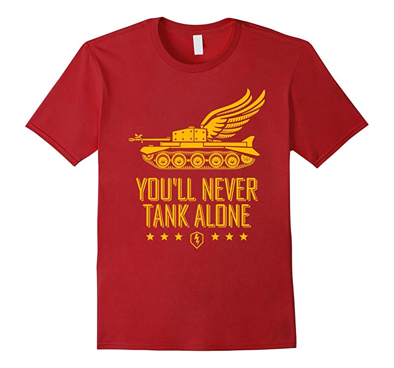 World of Tanks Blitz You'll Never Tank Alone T-Shirt-RT