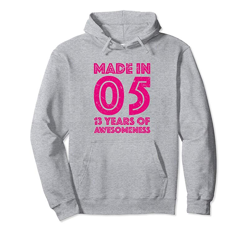 13th Birthday Hoodie Girl Gift 13 Thirteen Year Old Girls-TH