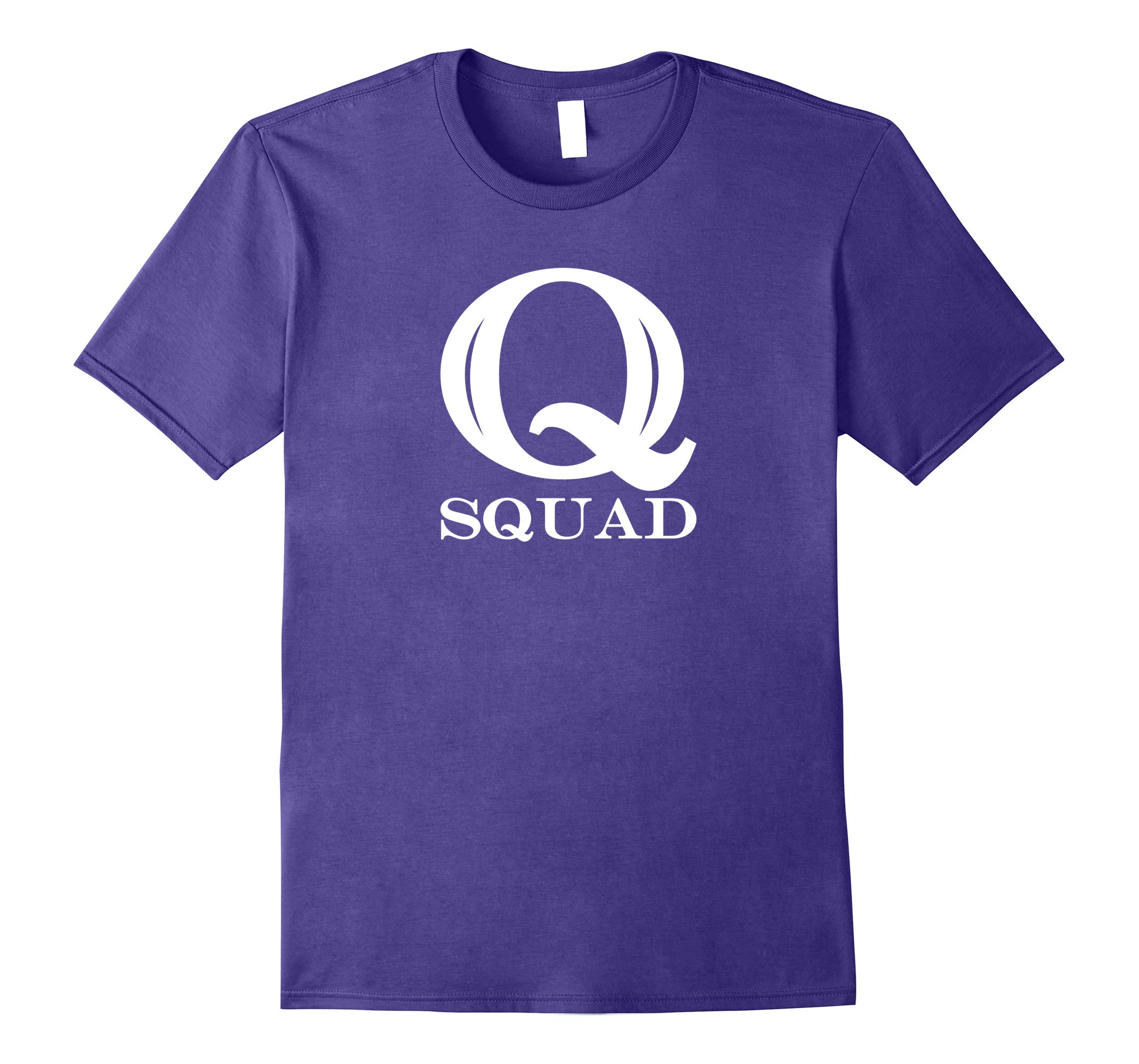 Q Squad T-Shirt For Q Anon Fans-RT