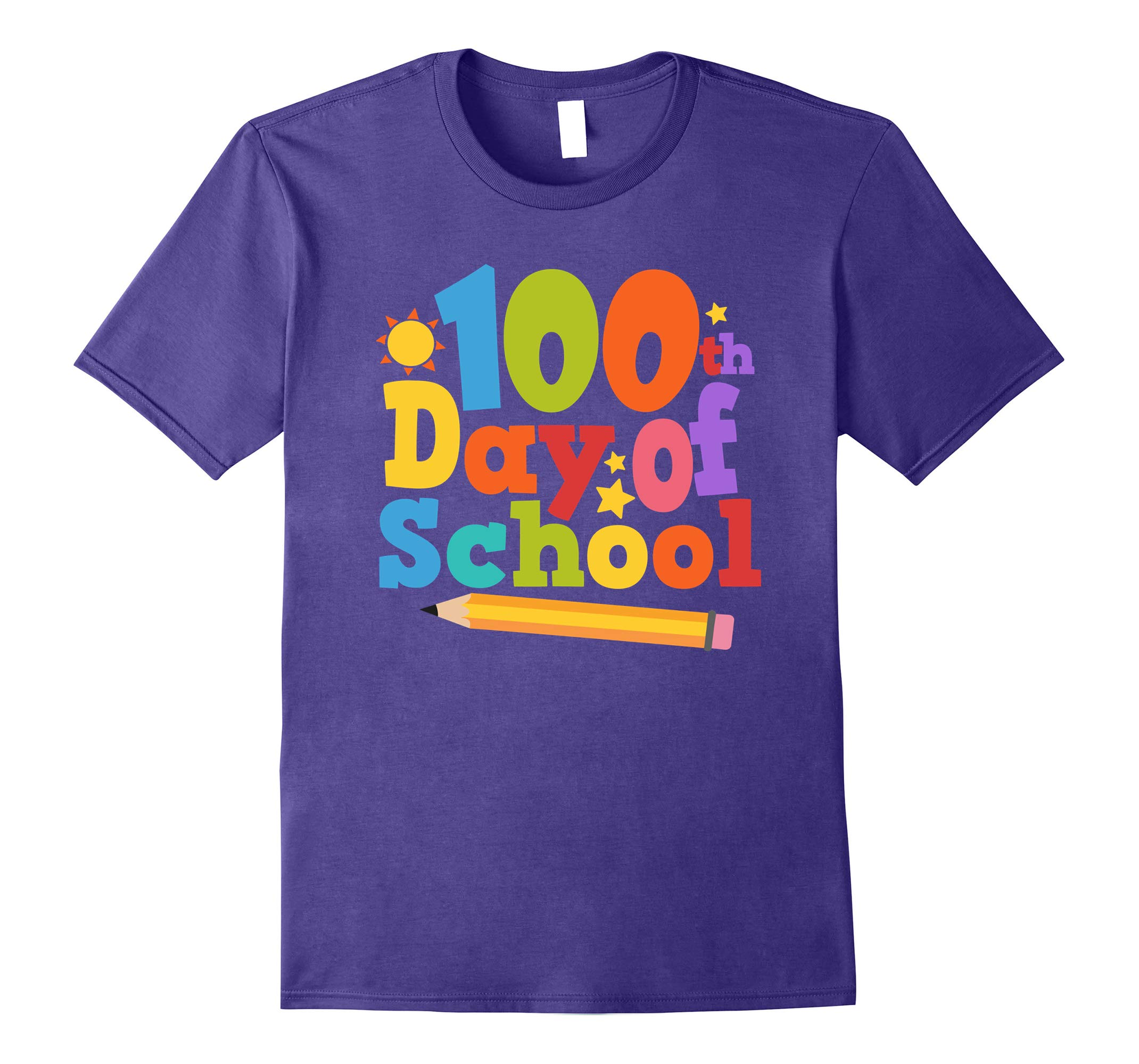 100th Day of School Shirt Teacher Gift 100 Day Survival Tee-RT