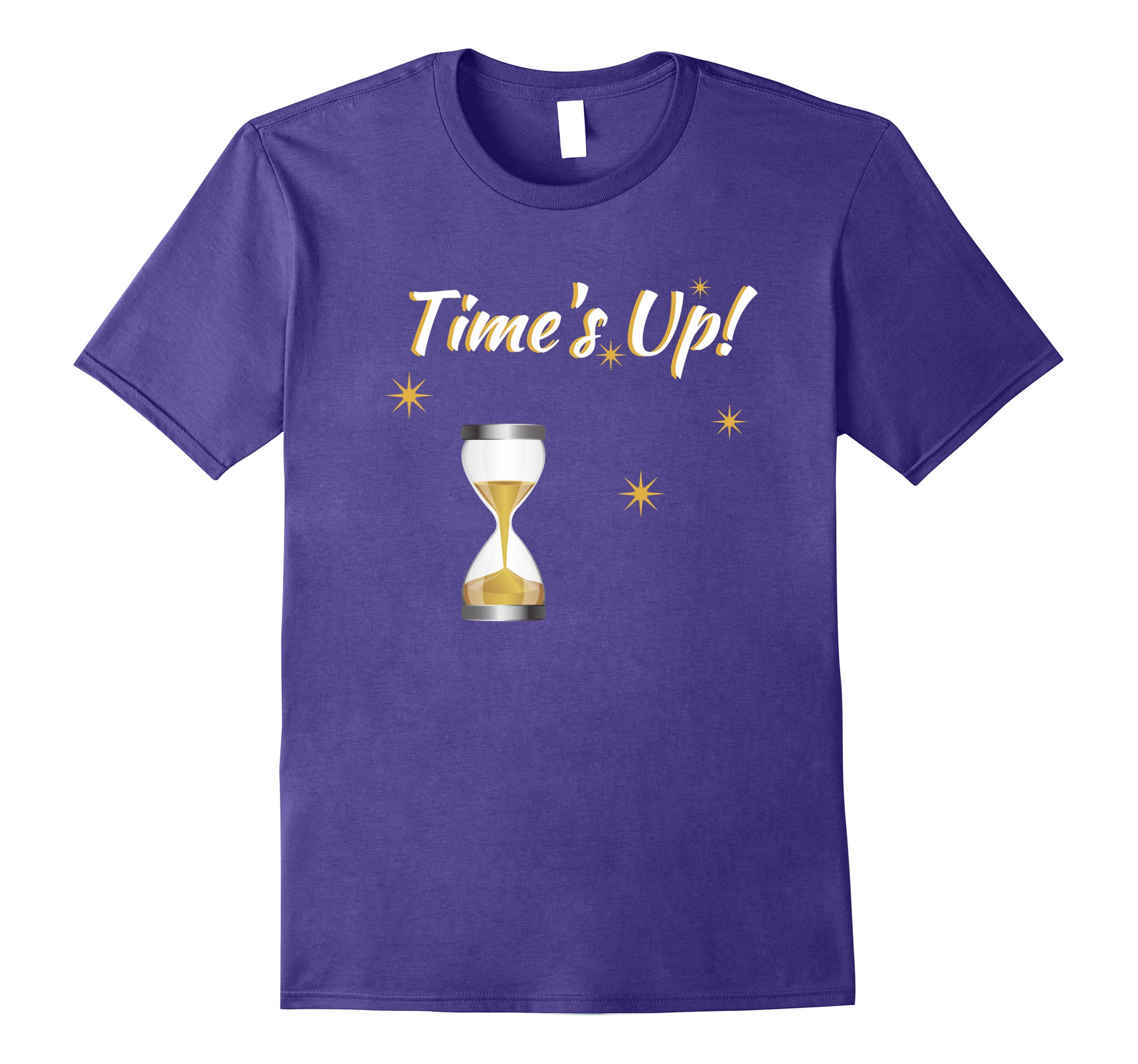 Time's Up! Novelty T-shirt for Non-Discrimination Cause-RT