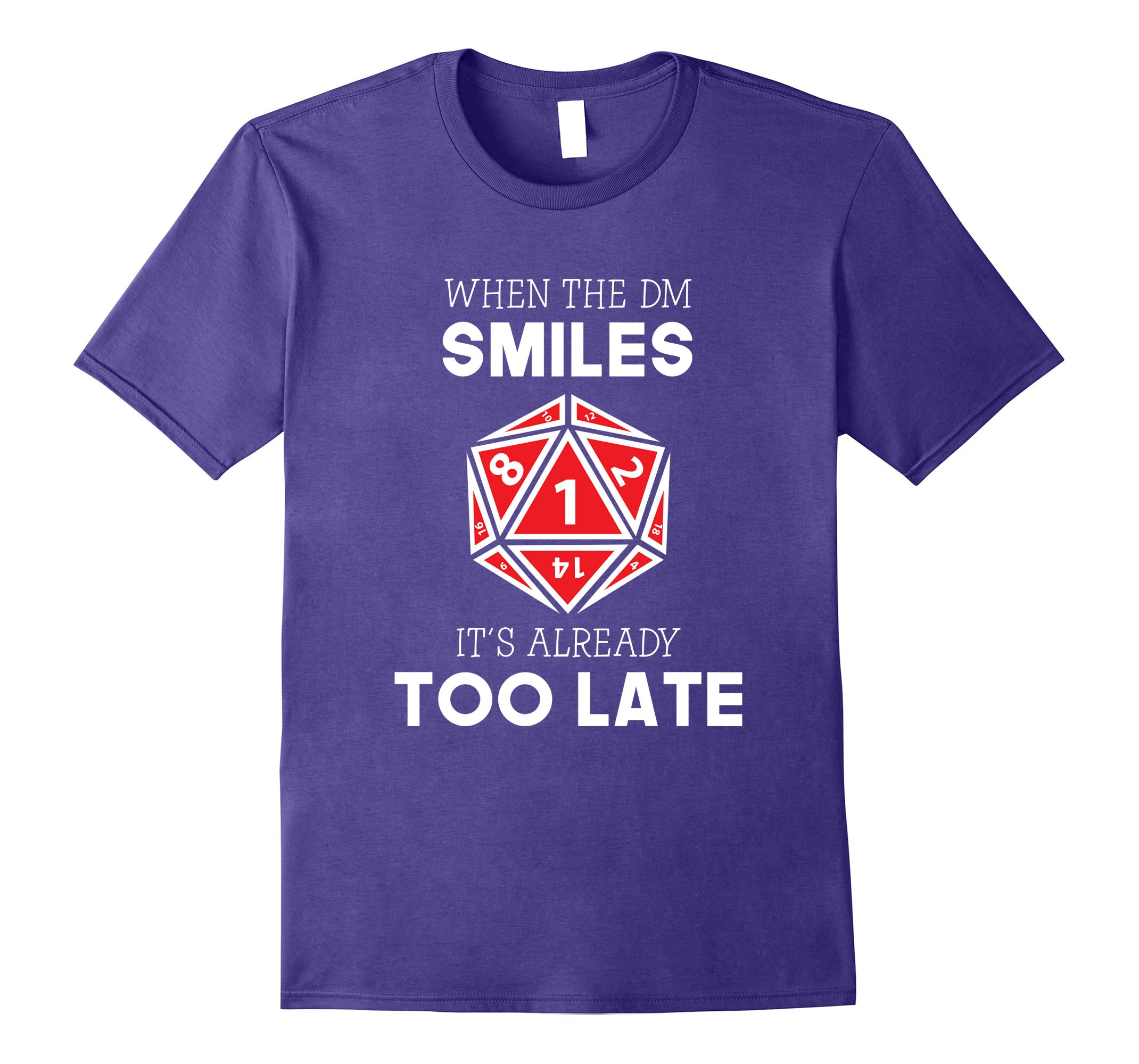 When the DM Smiles Shirts - Funny DND and Tabletop Shirts-RT