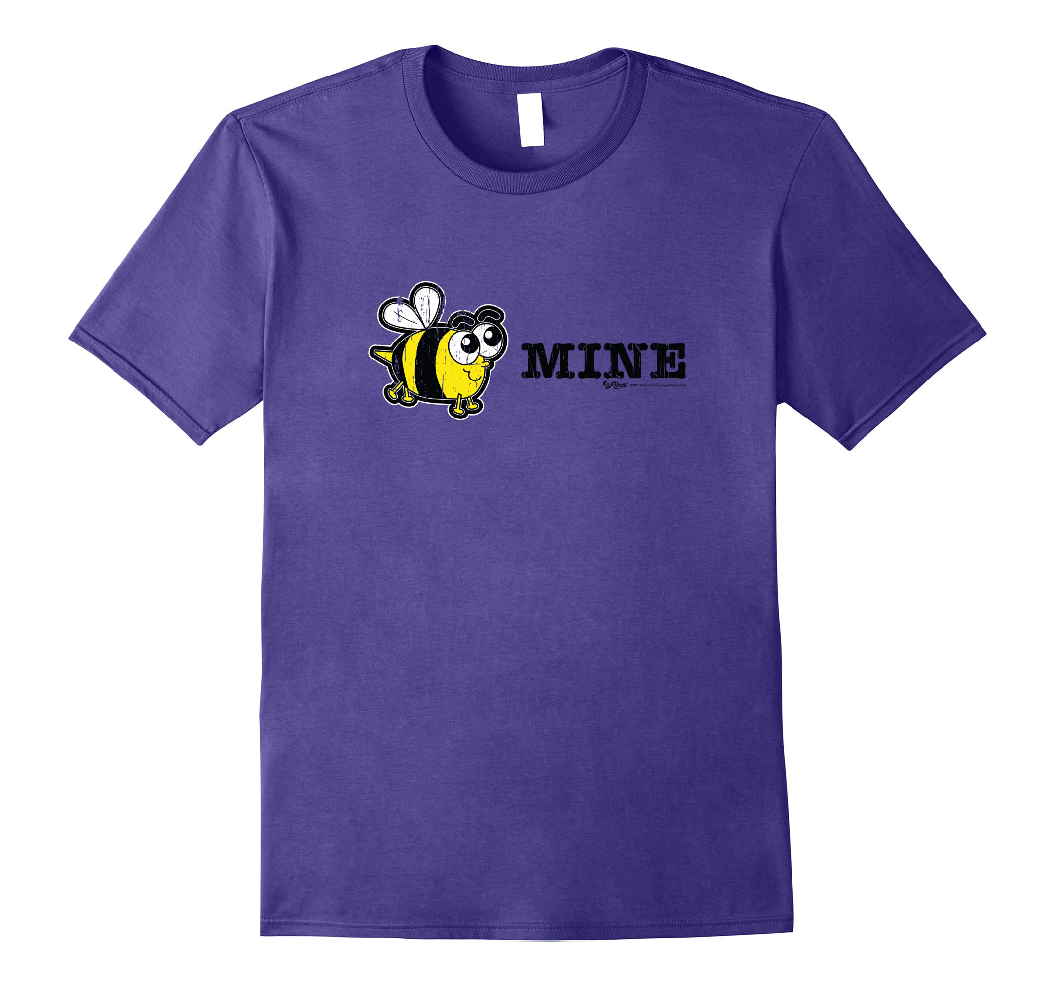 Vintage Bee Mine Valentines Day Novelty Gift T Shirt-RT