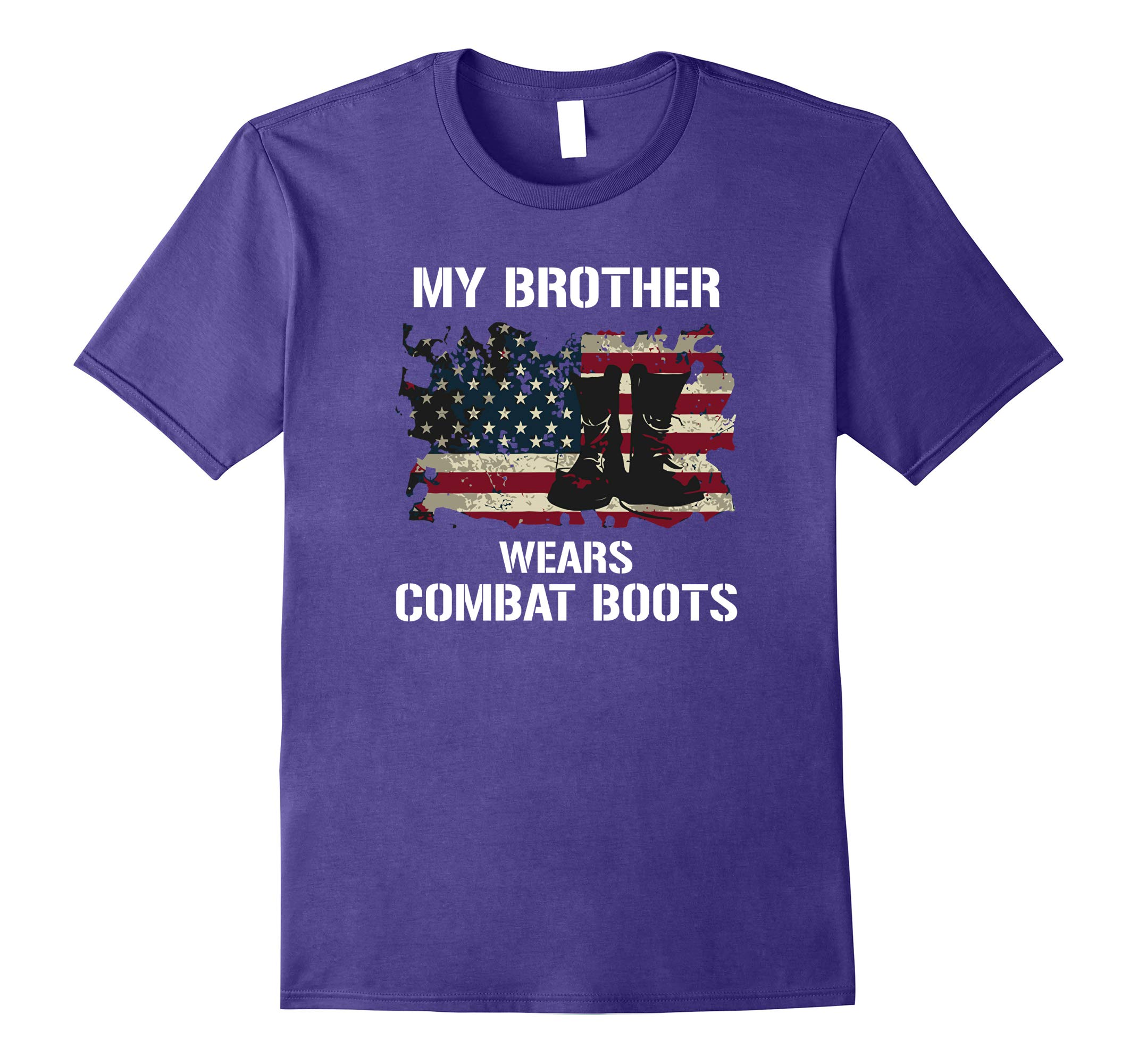Proud US Army Sisters Combat Boots T-shirts-RT