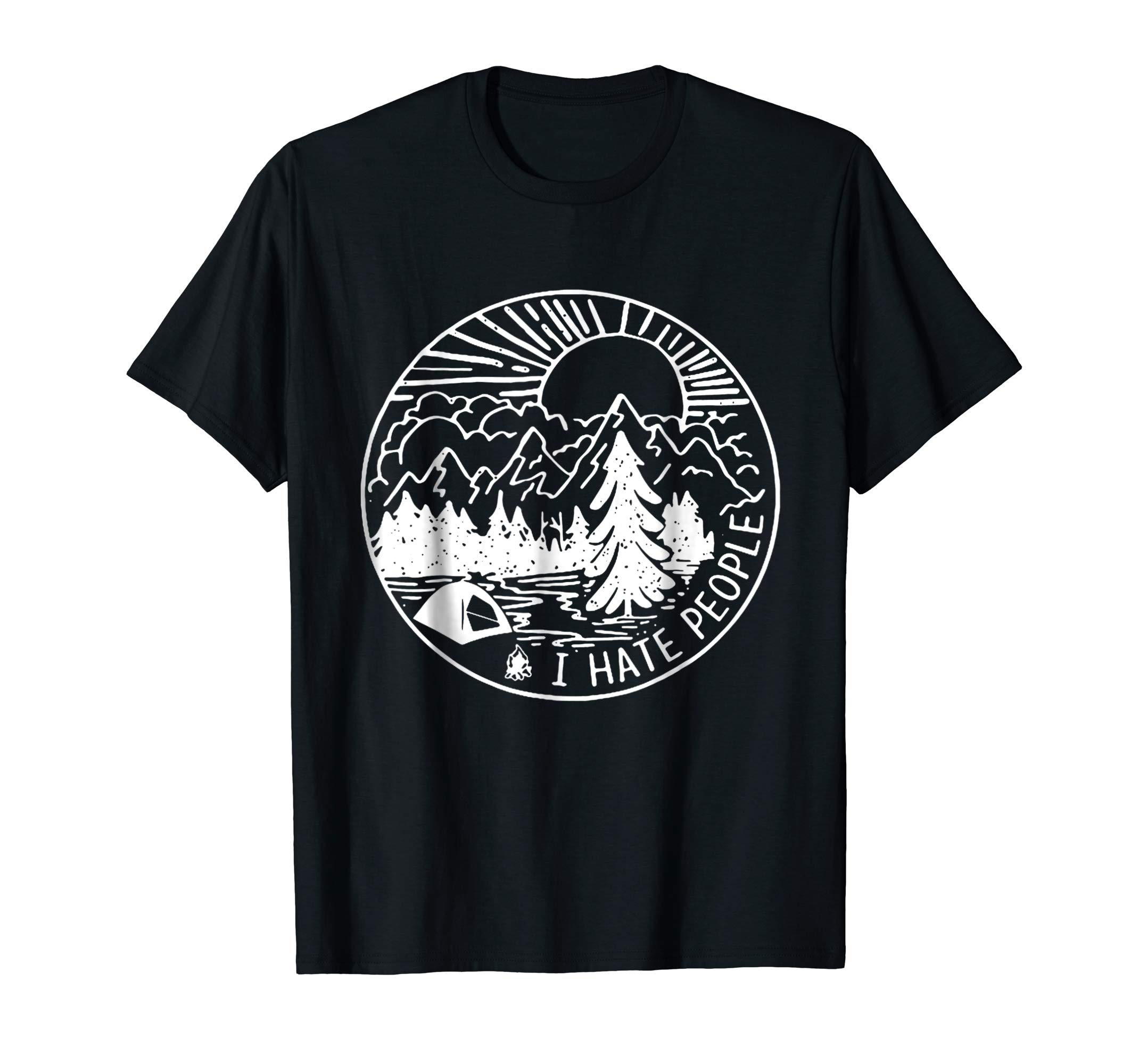 I Hate People Life Is Better Around The Campfire Shirt-alottee gift