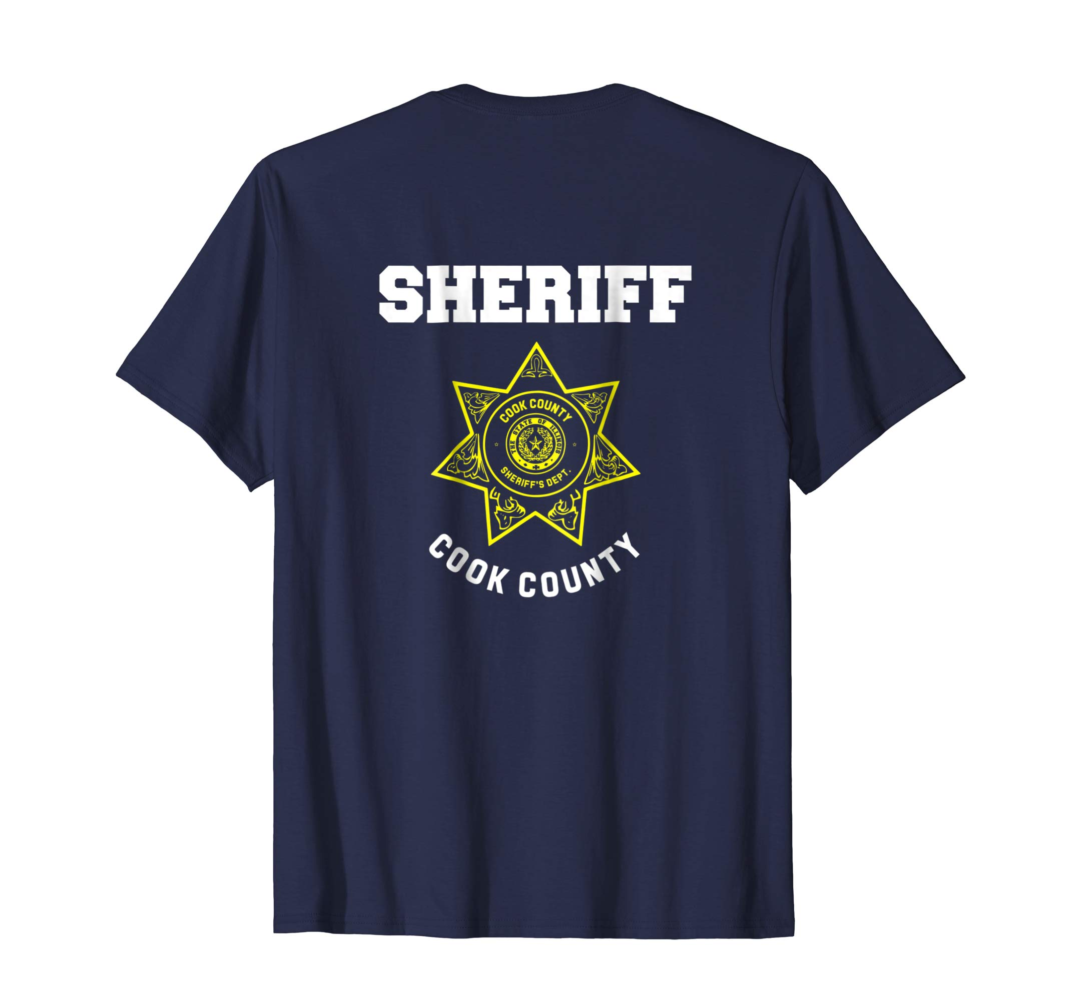 Cook County Illinois Sheriff Deputies Police Uniform T Shirt-azvn