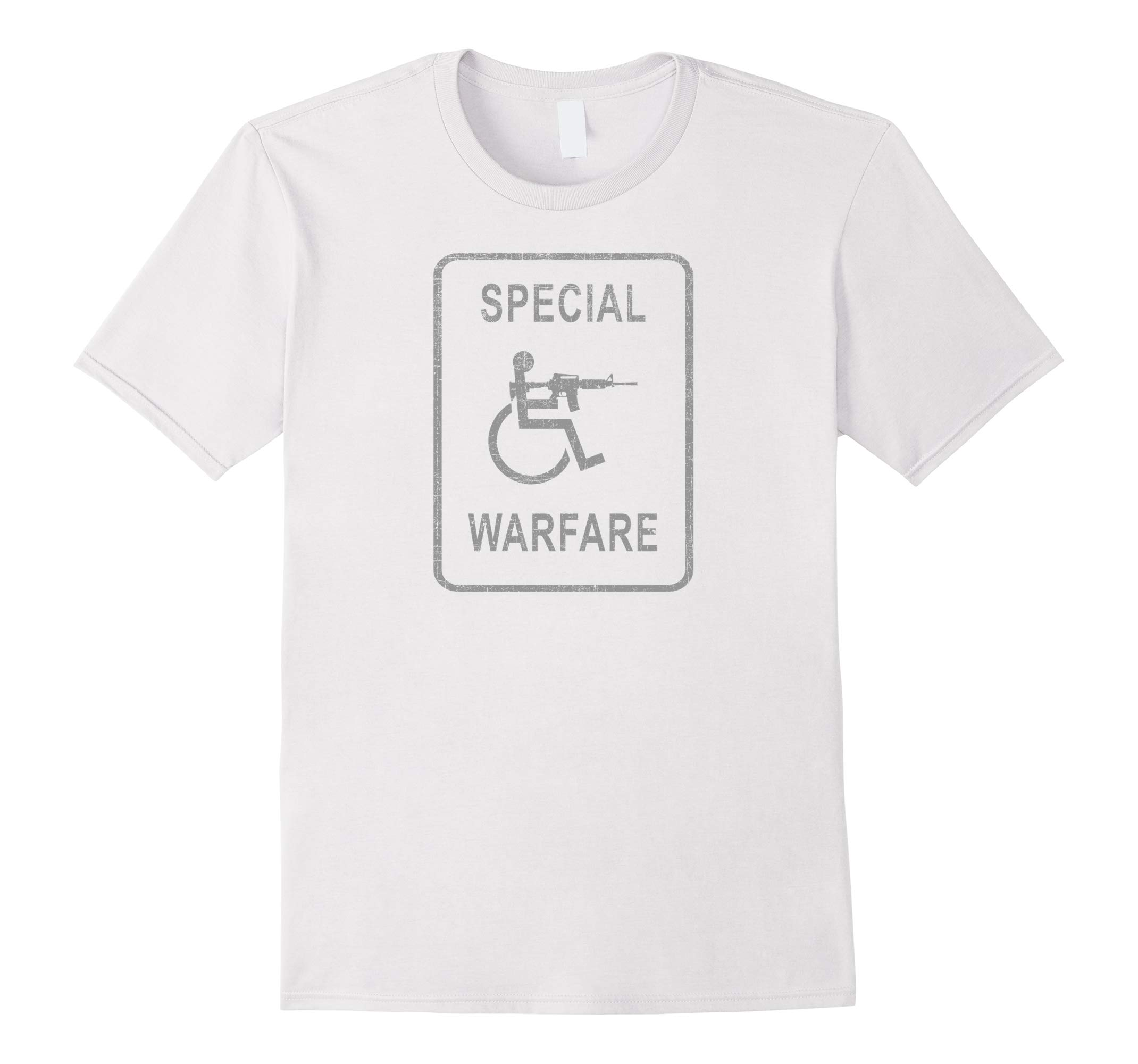 Awesome SPECIAL WARFARE Handicapped Disabled T Shirt!-RT