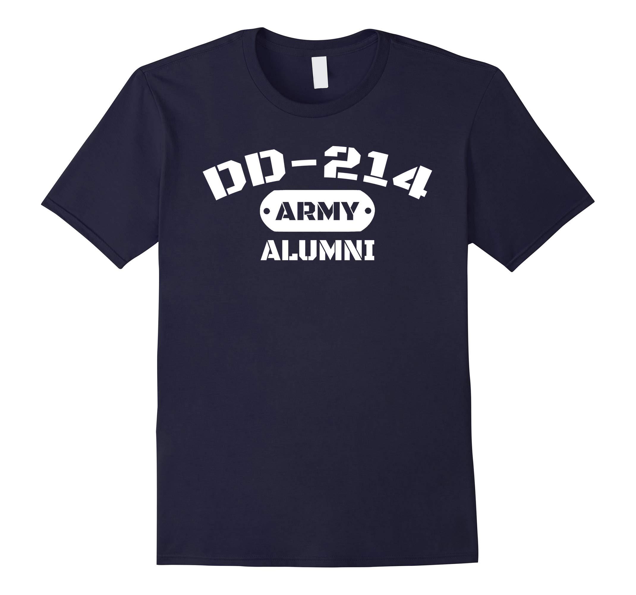 DD-214 US Army Alumni T-Shirt-RT