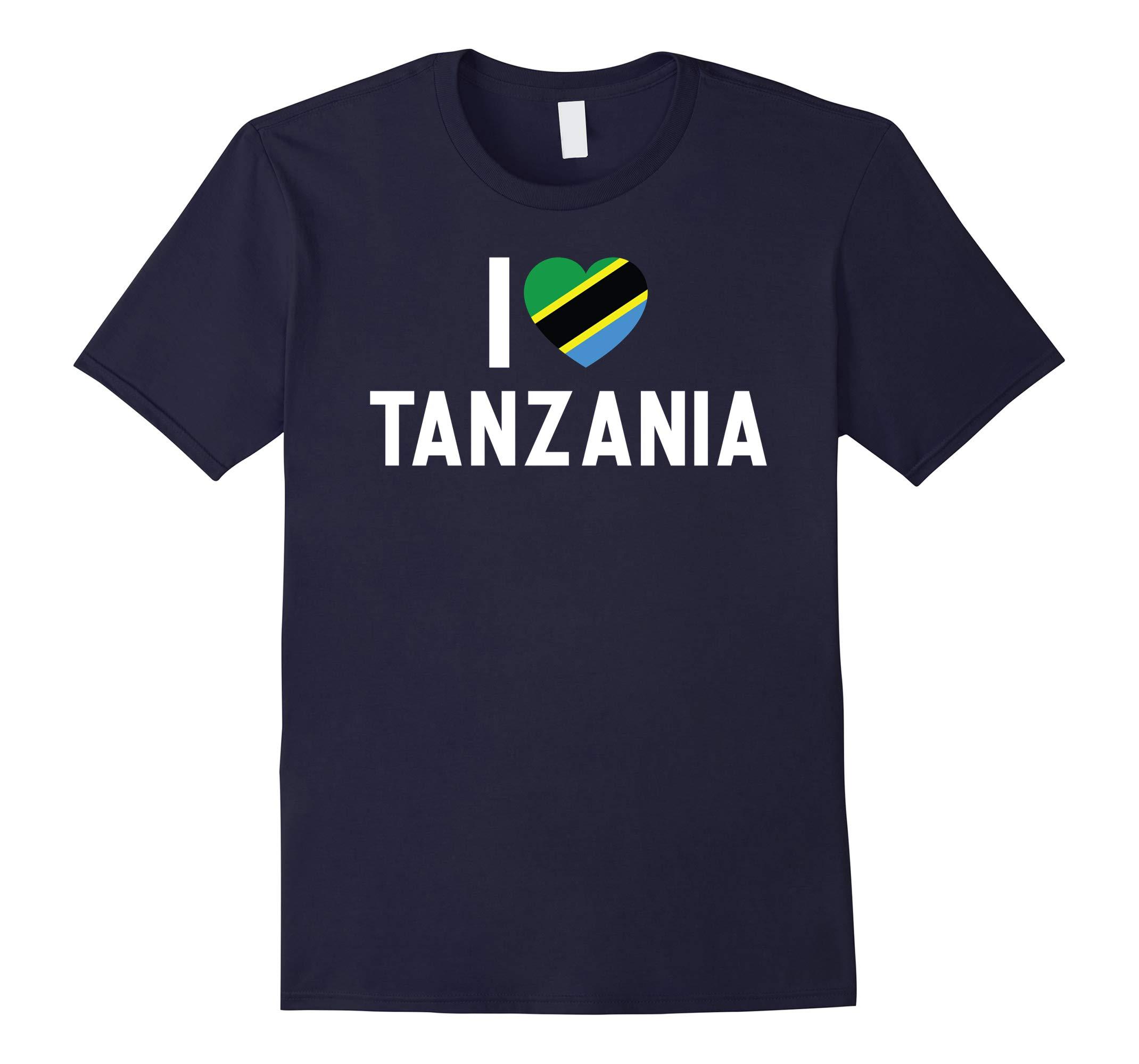 I Love Tanzania T-Shirt-RT