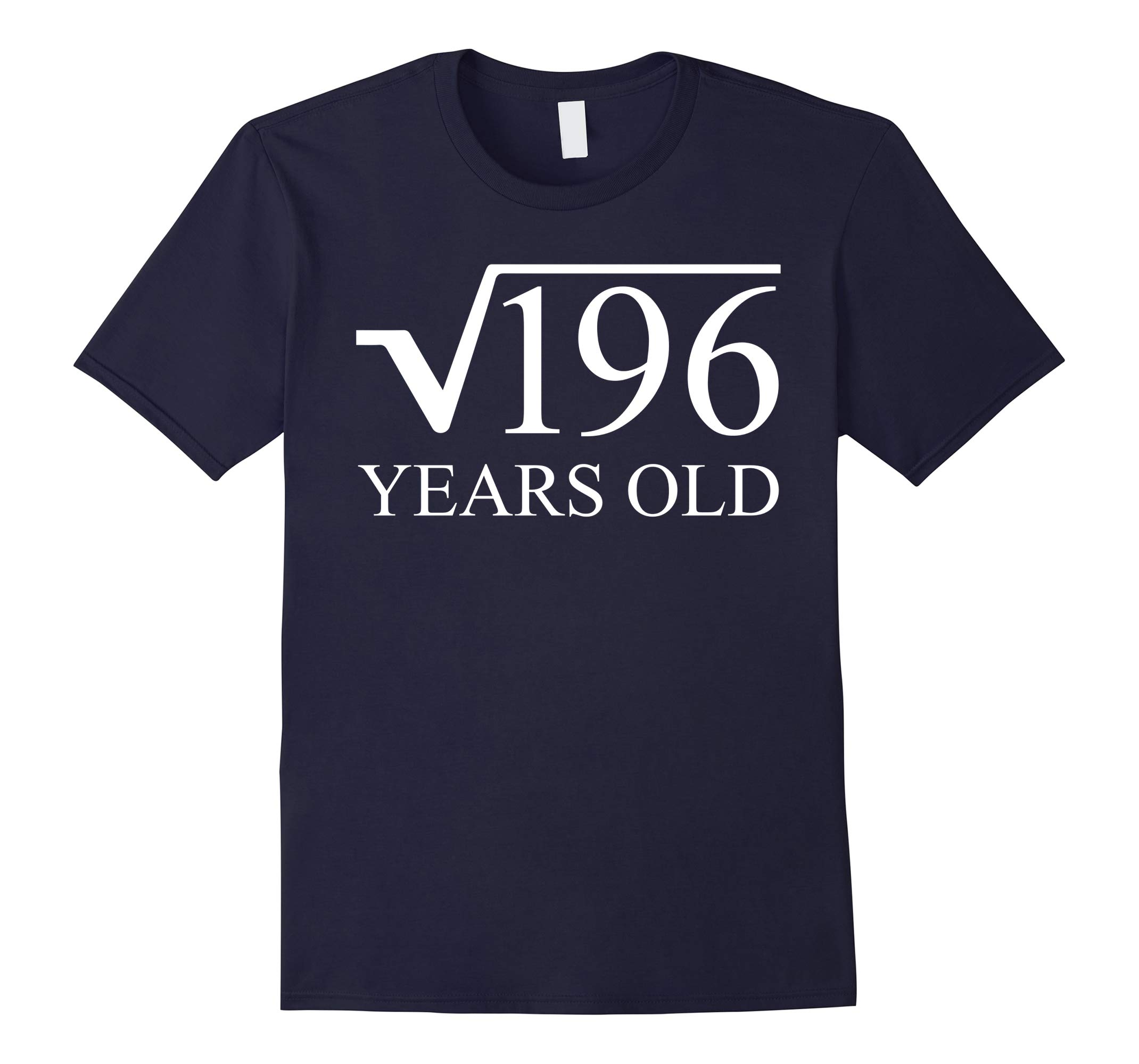 14rd Birthday Tee Shirt 14 Years Old Square Root of 196-RT