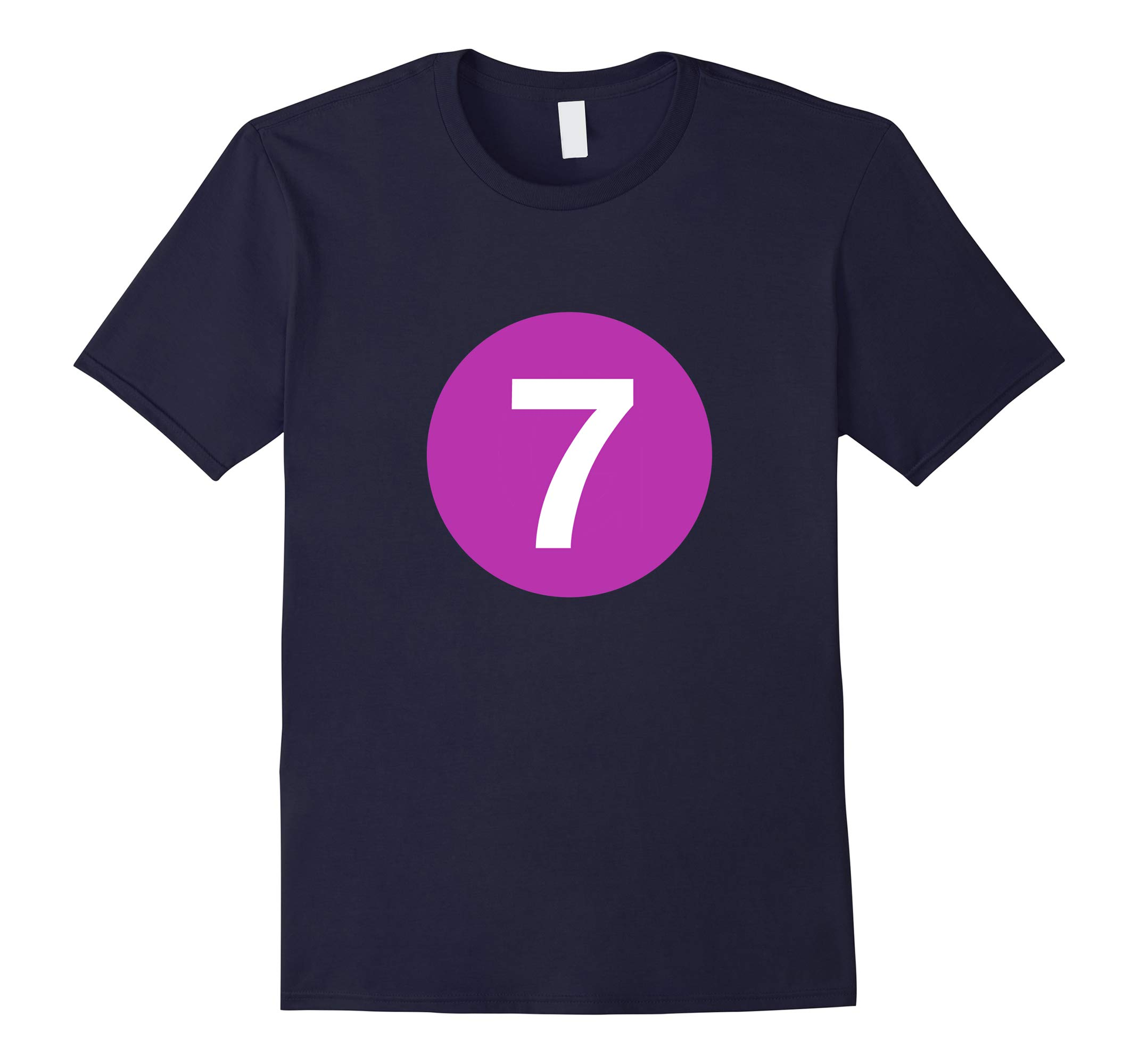 7 Line - NYC Subway Train Shirt-RT