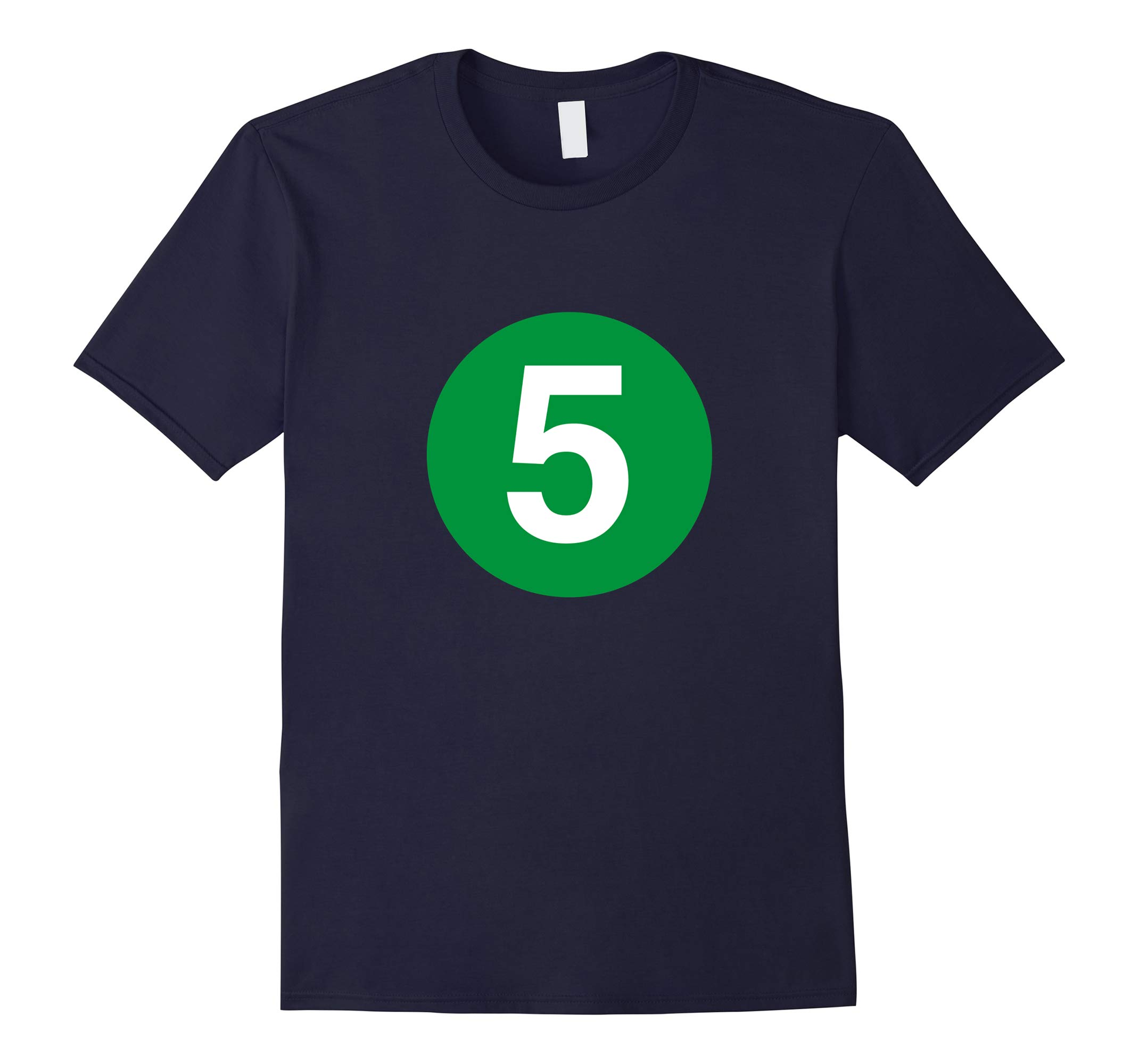 5 Line - NYC Subway Train Shirt-RT