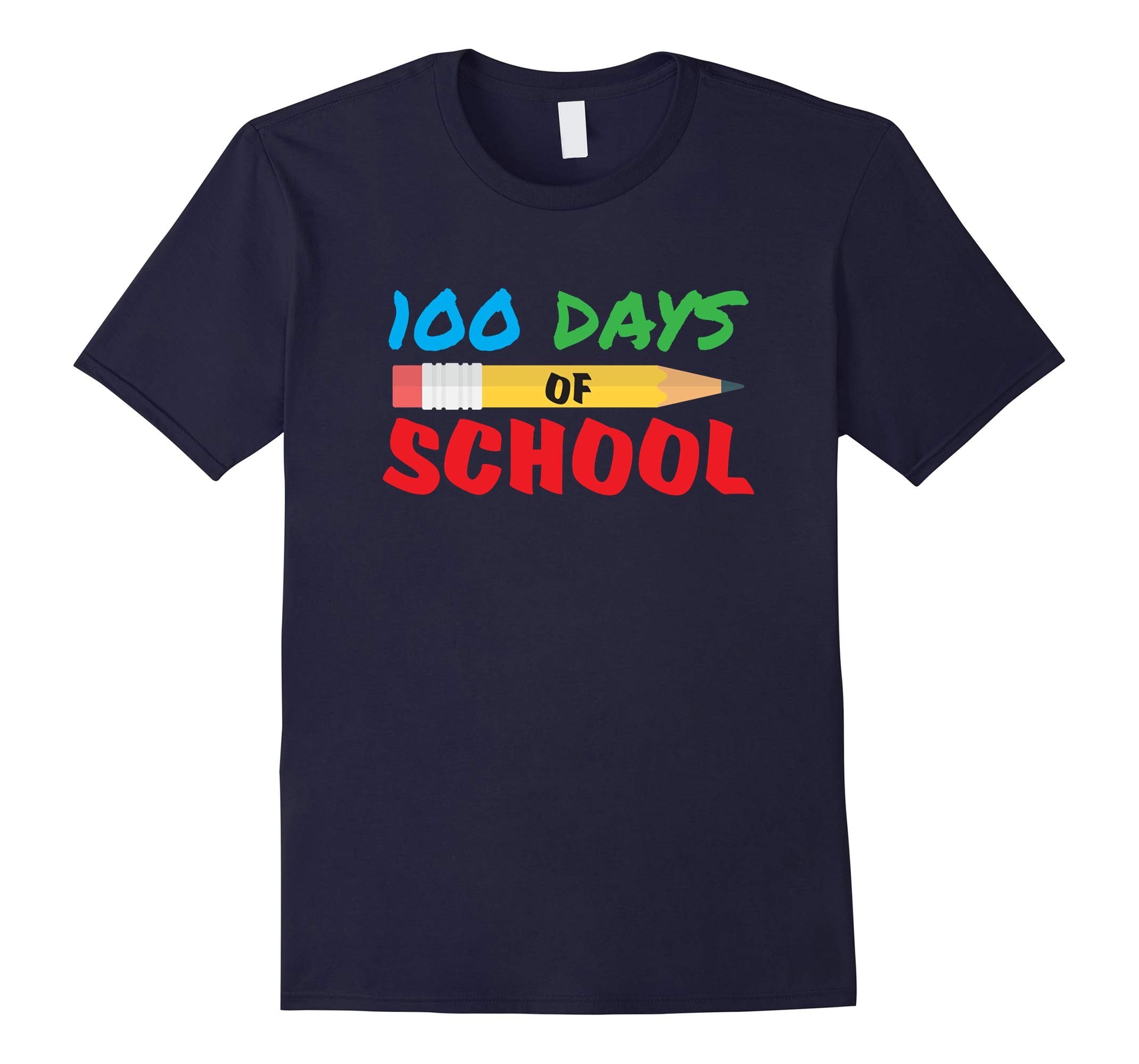 100 Days of School Cute 100th Day of School Tshirt-RT