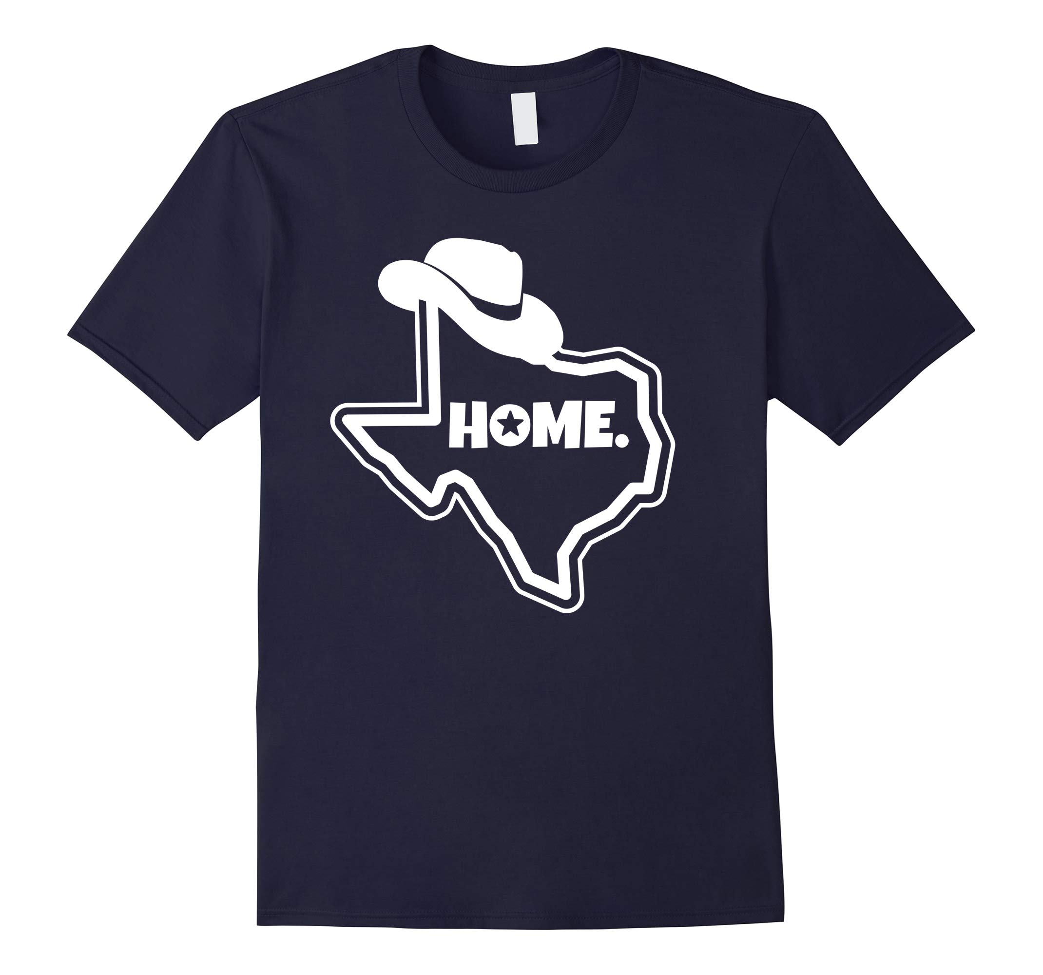 Texas Home Shirt with Cowboy Hat-RT