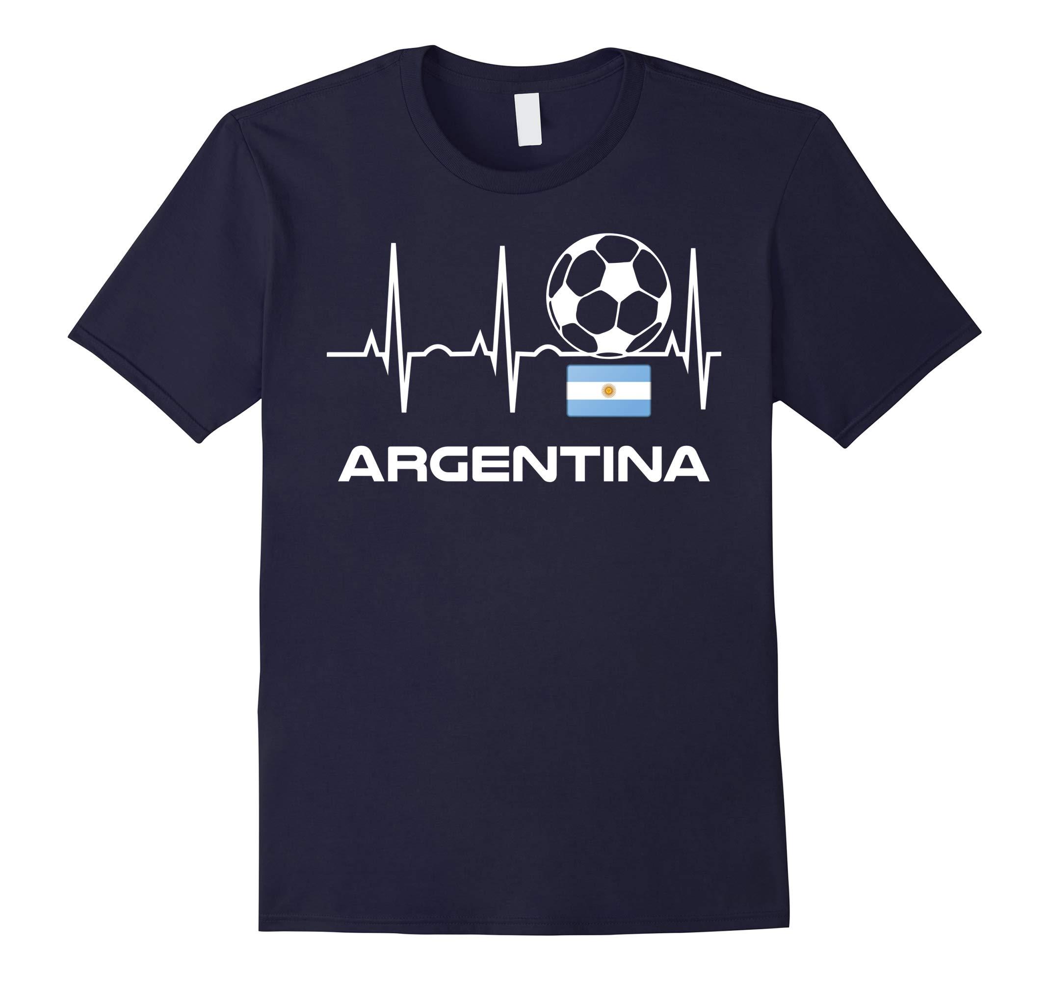 Argentina Soccer Jersey T-Shirt - Best Argentina Futbol Tee-RT