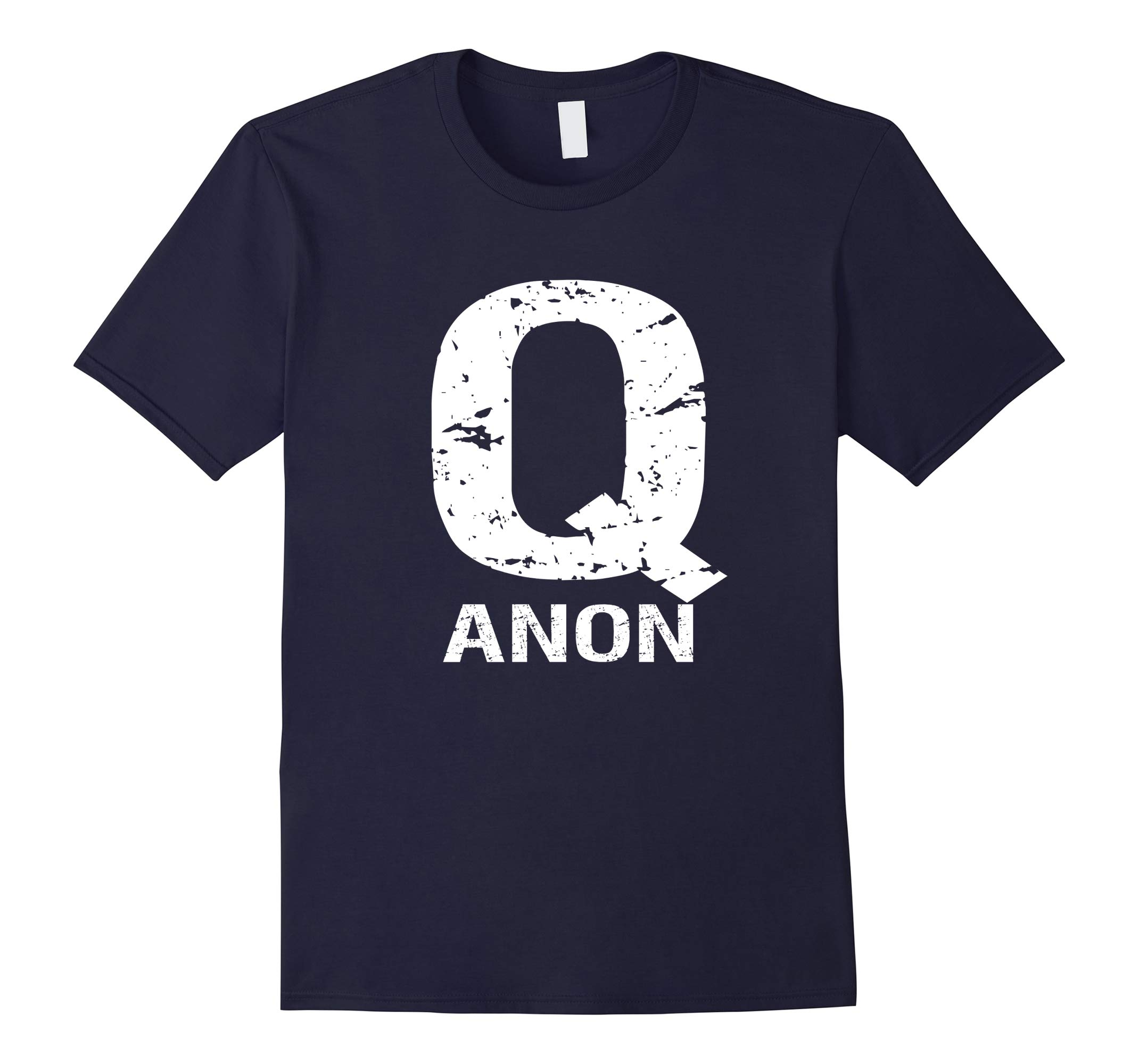Q Anon T-shirt - The Storm Is Here Follow The White Rabbit-RT