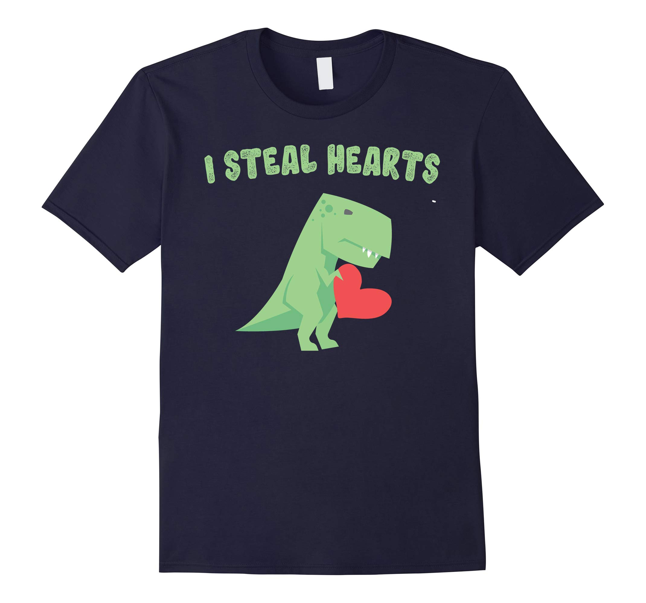 Valentine's Day Dinosaur Quote Gifts T-Shirts for Little Boy-RT