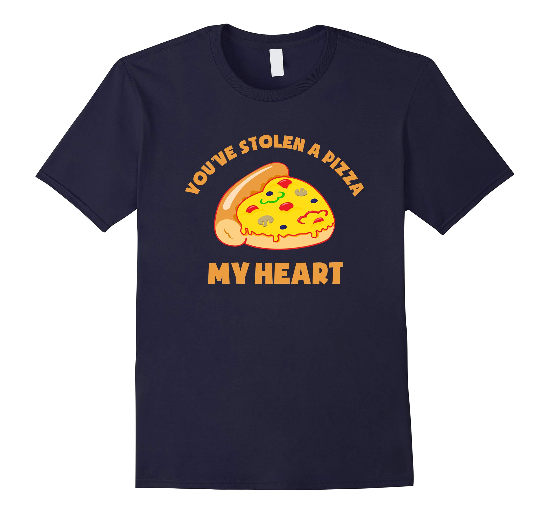 You've stolen a pizza my heart - Funny Valentine's Day Shirt-RT