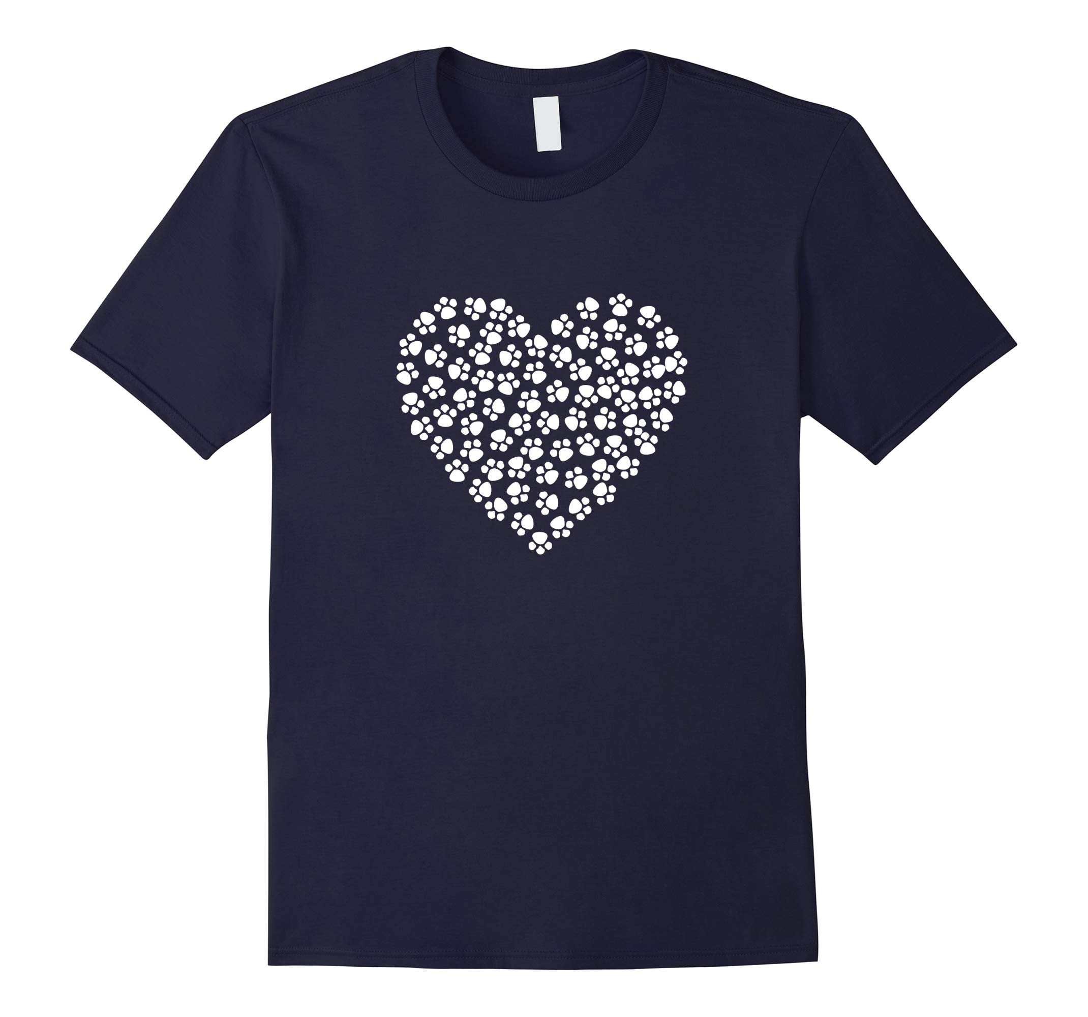 Dog Lover Dog Heart T-Shirt-RT