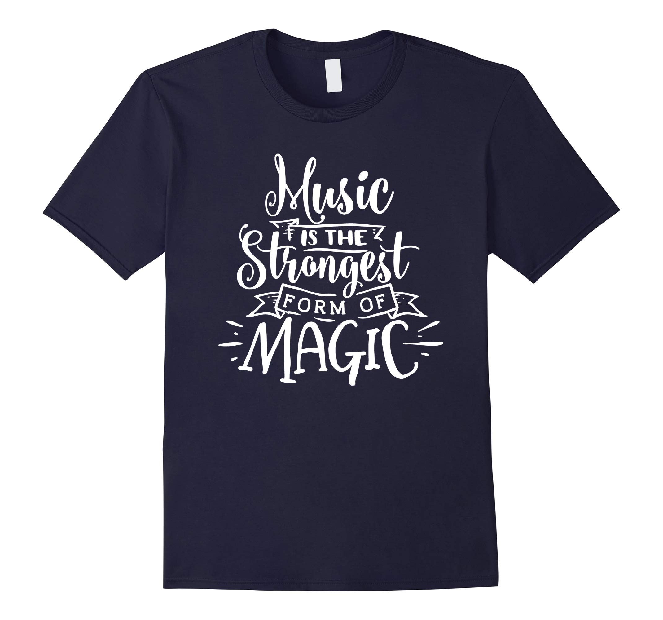 Music Is The Strongest Form Of Magic Marilyn Quote Shirt-RT