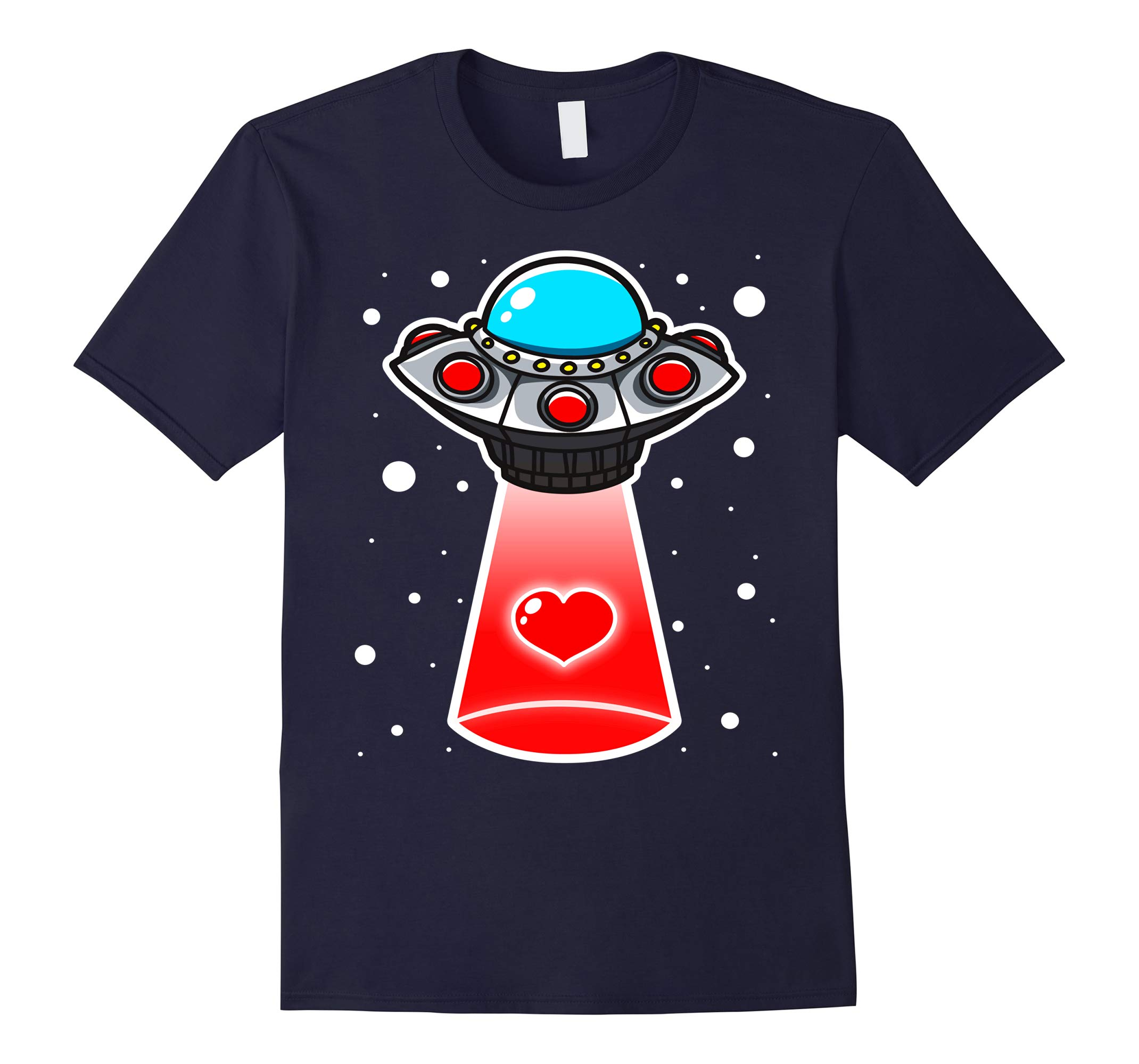 You Have Abducted My Heart Funny Valentines Day T-Shirt-RT