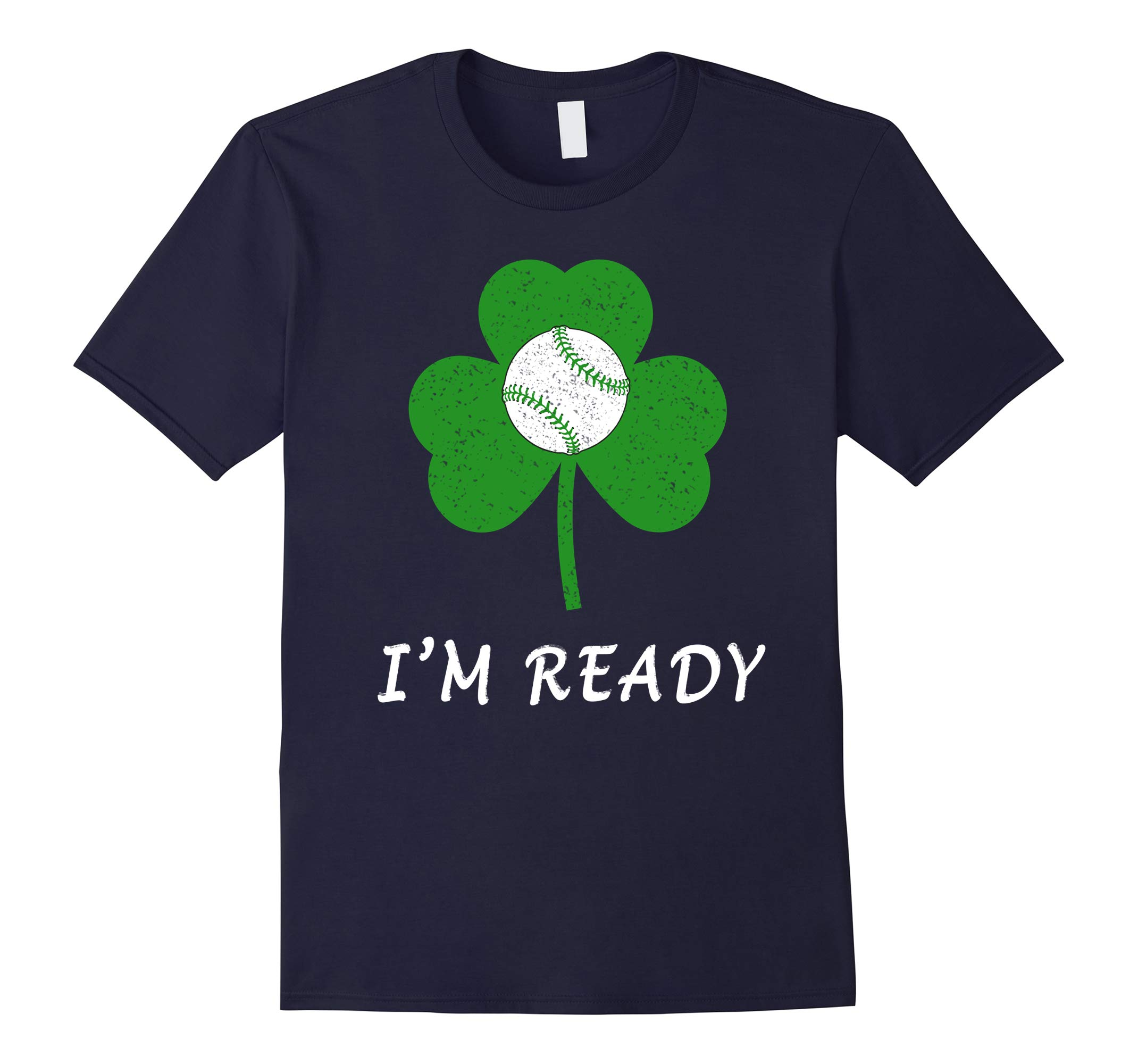 Baseball Spring Training T-Shirt - St. Patricks Day Baseball-RT