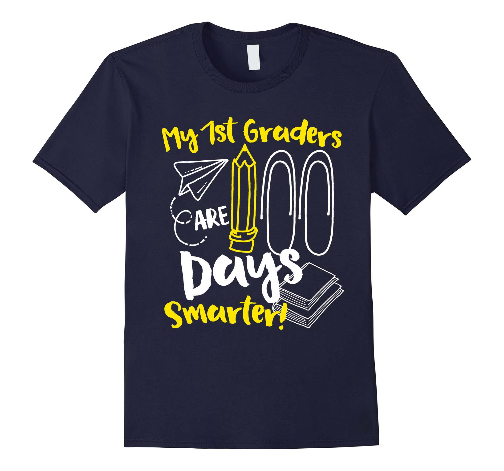 100th Day of School 1st Grade Teacher Shirt-RT