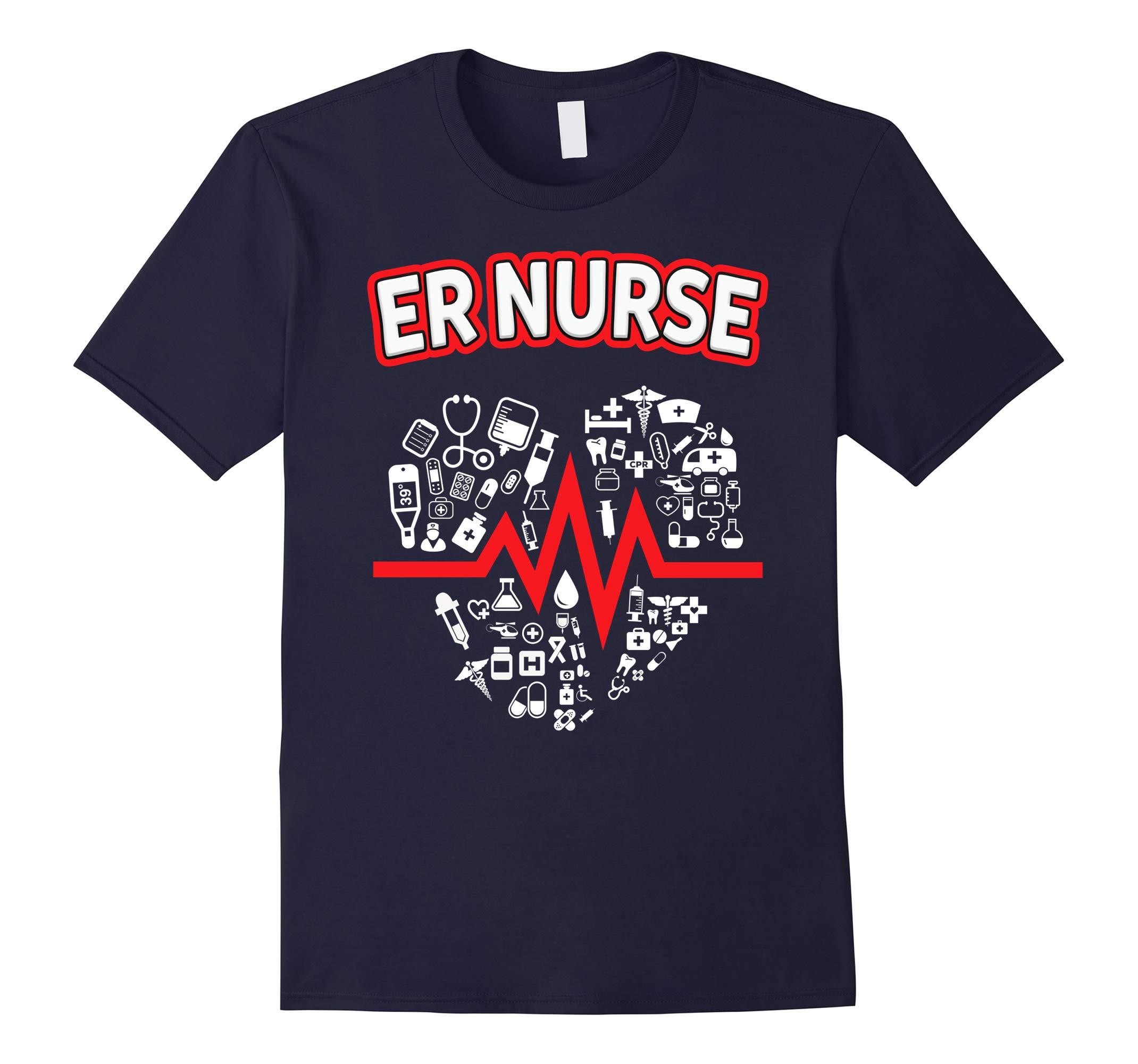 ER Nurse Tee Shirt Gift for Emergency Room's Nurses-RT