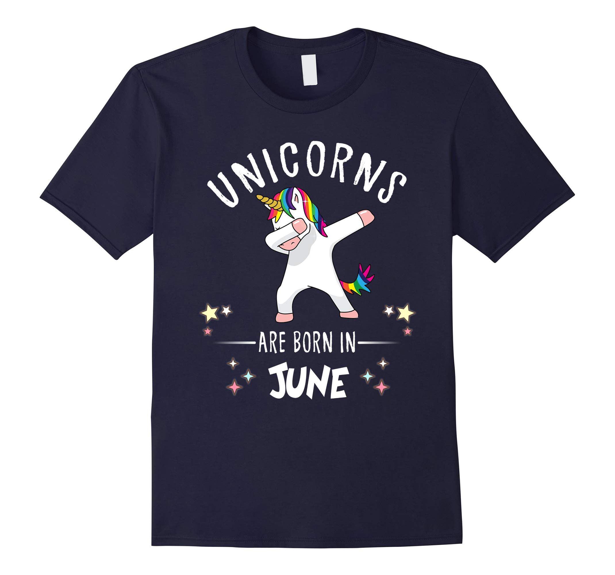 Unicorns are born in June Dabbing T Shirt funny Kids Tee-RT