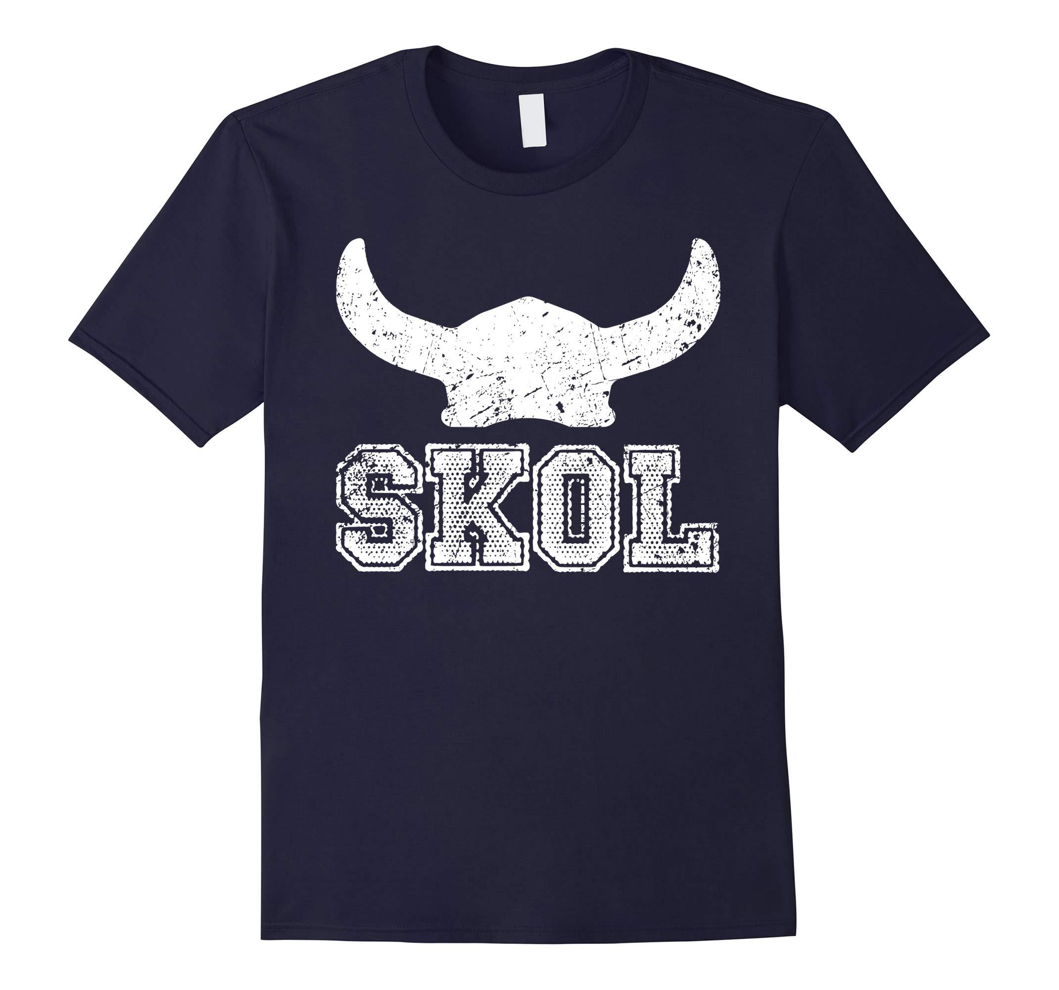 Nordic Collection: Horned Helmet Skol Shirt-RT