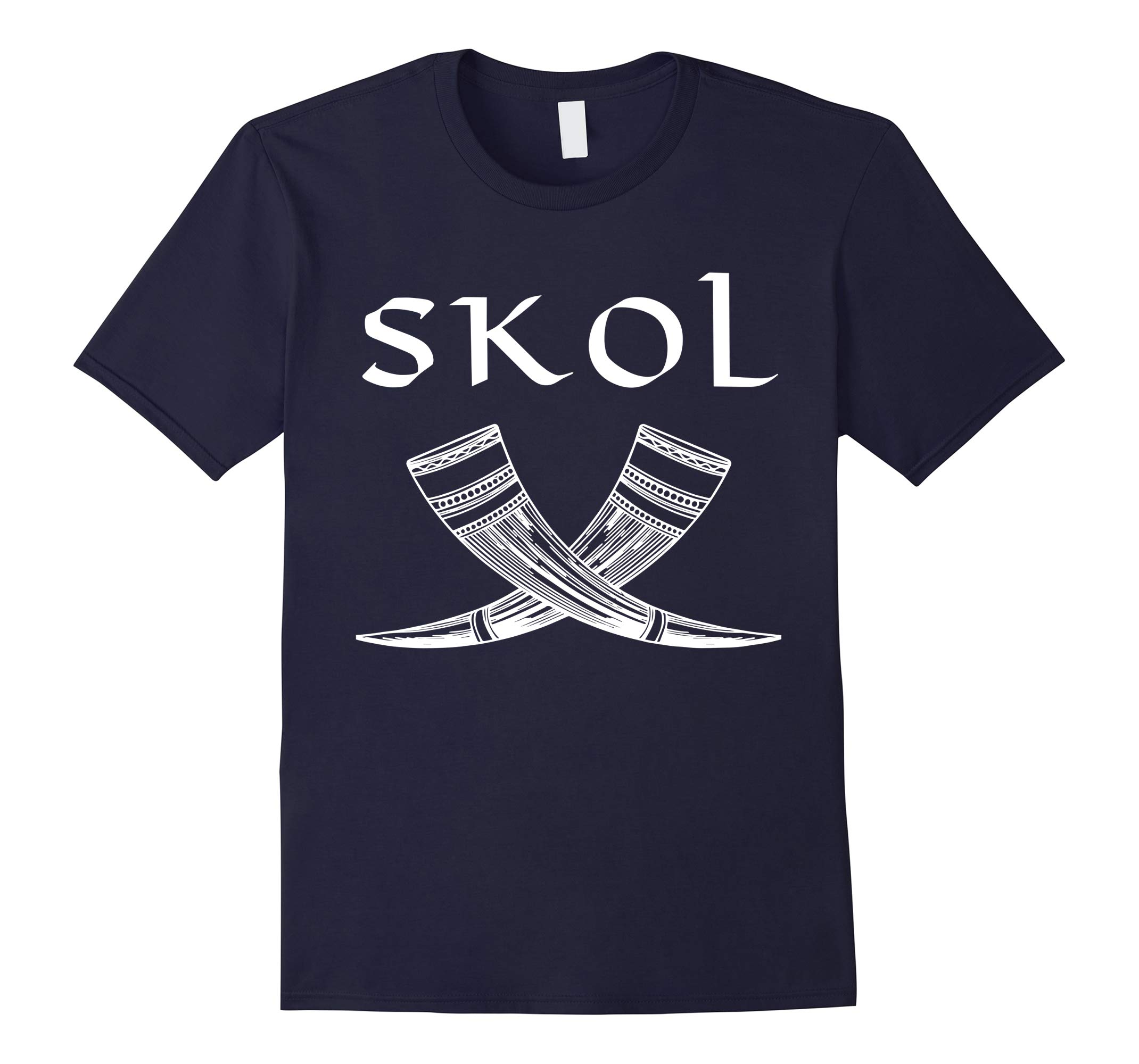 Norse Heritage Viking Drinking Horns Cheer Skol Gift T-Shirt-RT