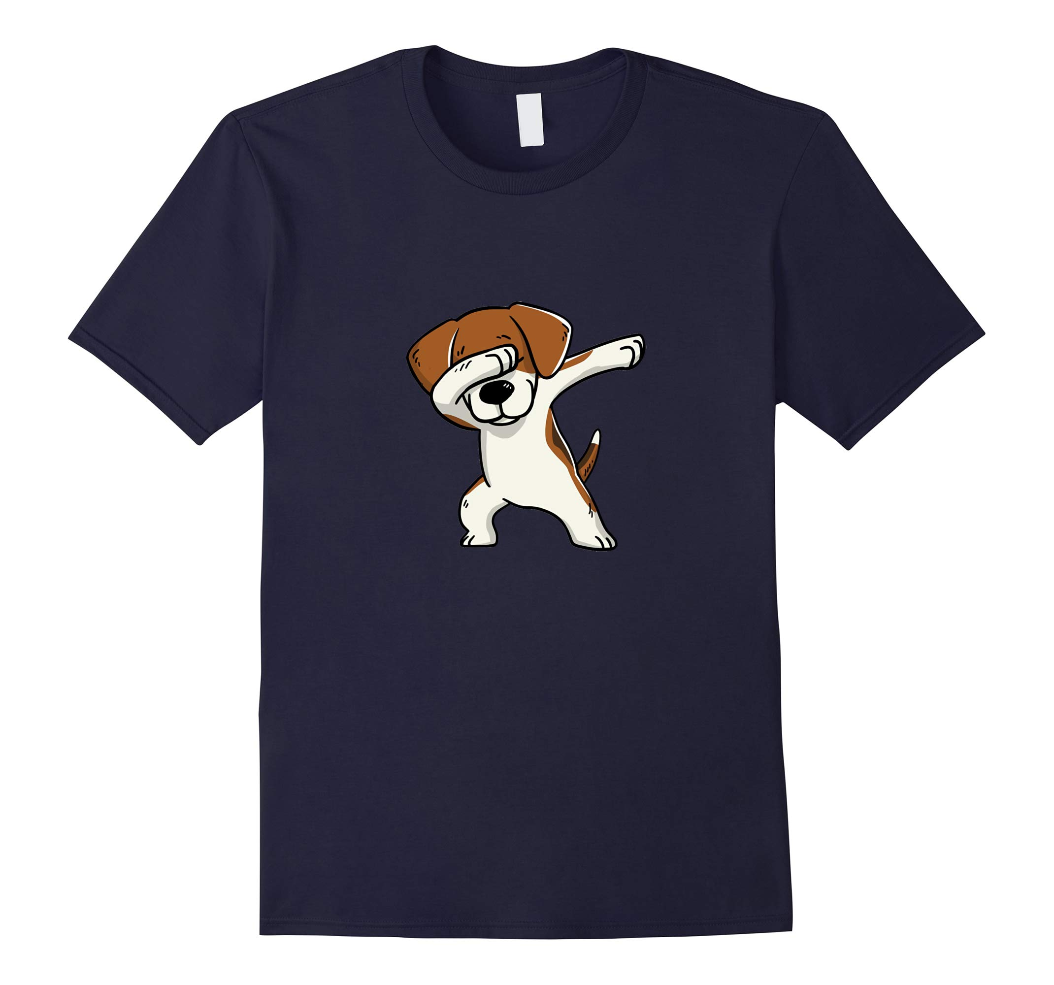 Dabbing Beagle T-Shirt is a Great Gift for a Beagle Parent-RT