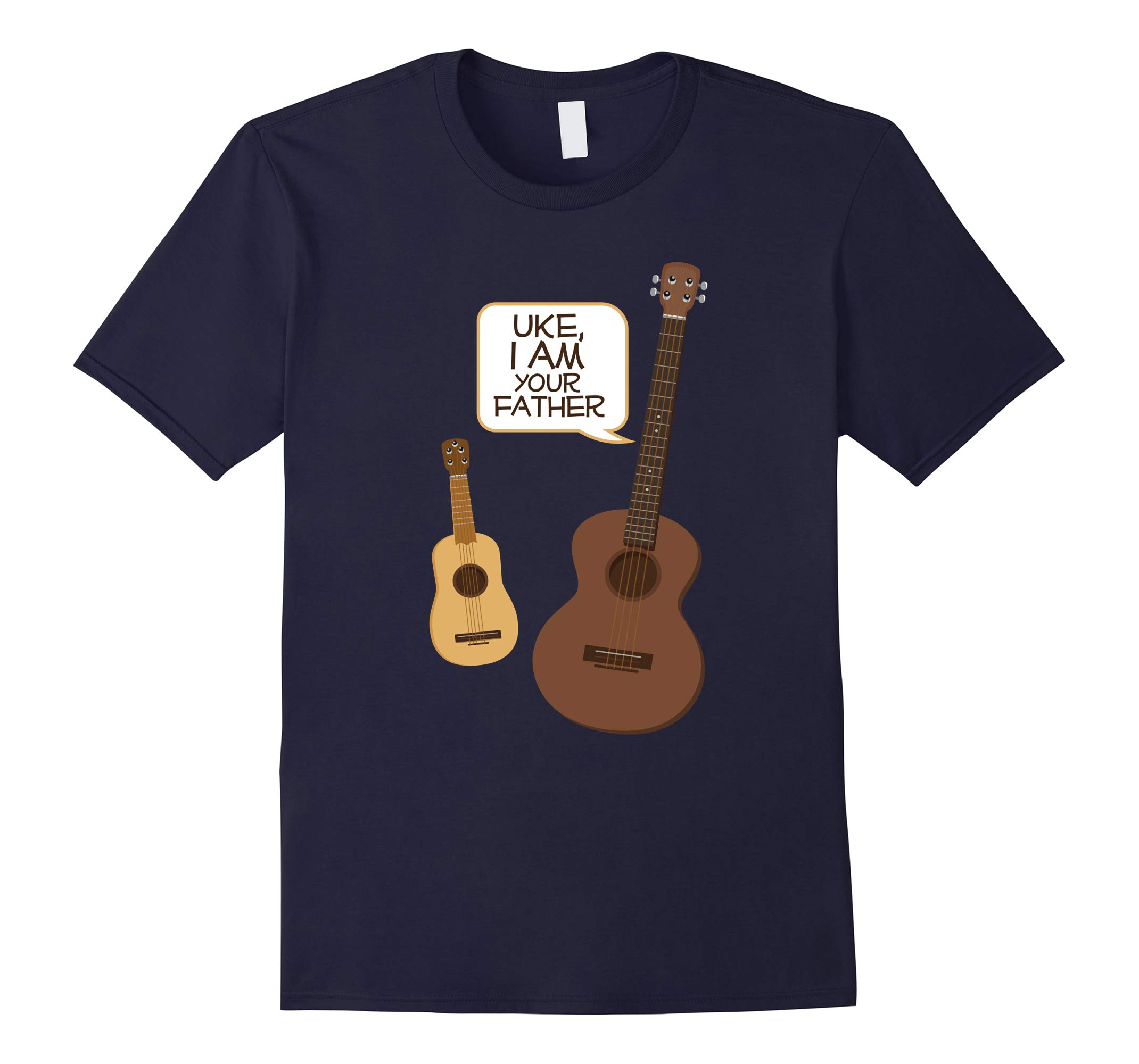 Funny Band Joke Uke I Am Your Father Guitar Ukulele Shirt-RT