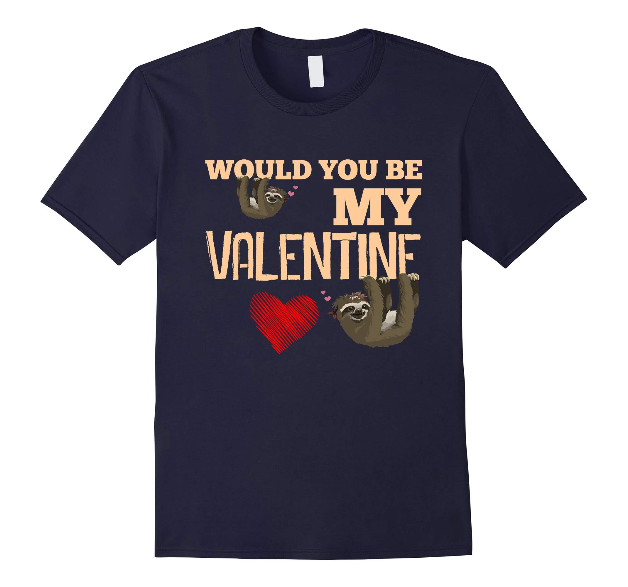 Sloth Valentine Shirts-RT