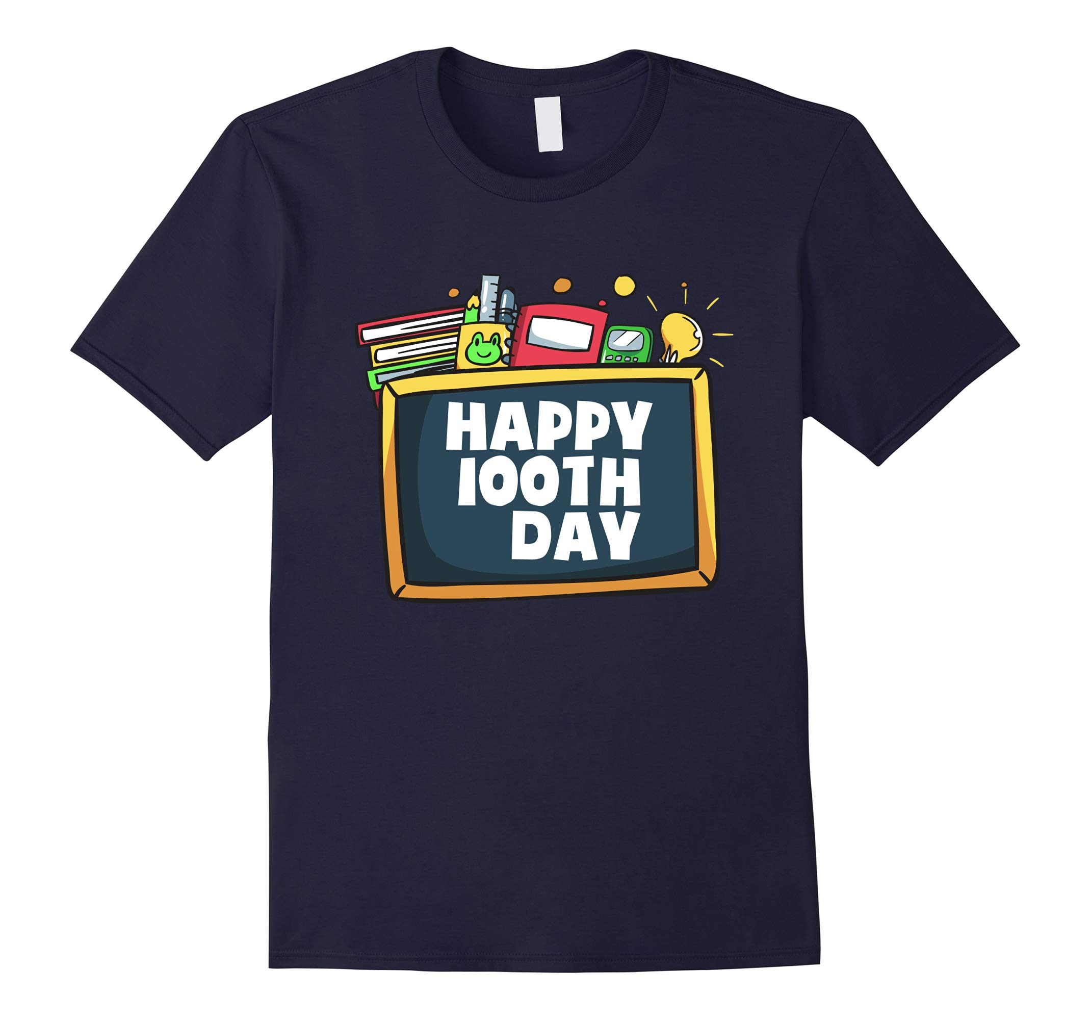 100th Day of School School Teacher and Student Gifts T-Shirt-RT
