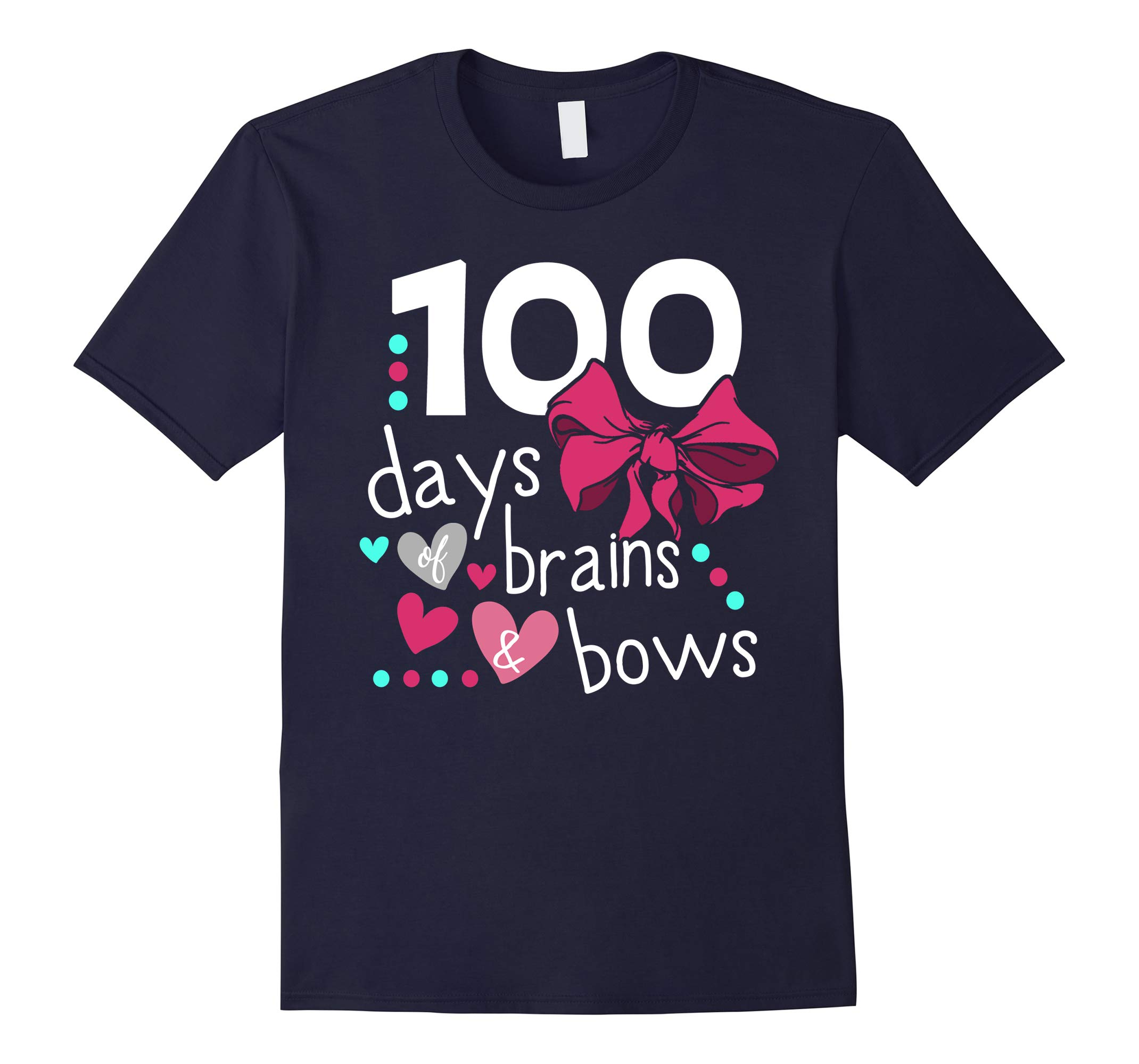 100 Days of Brain and Bows - Funny 100th Day of School-RT
