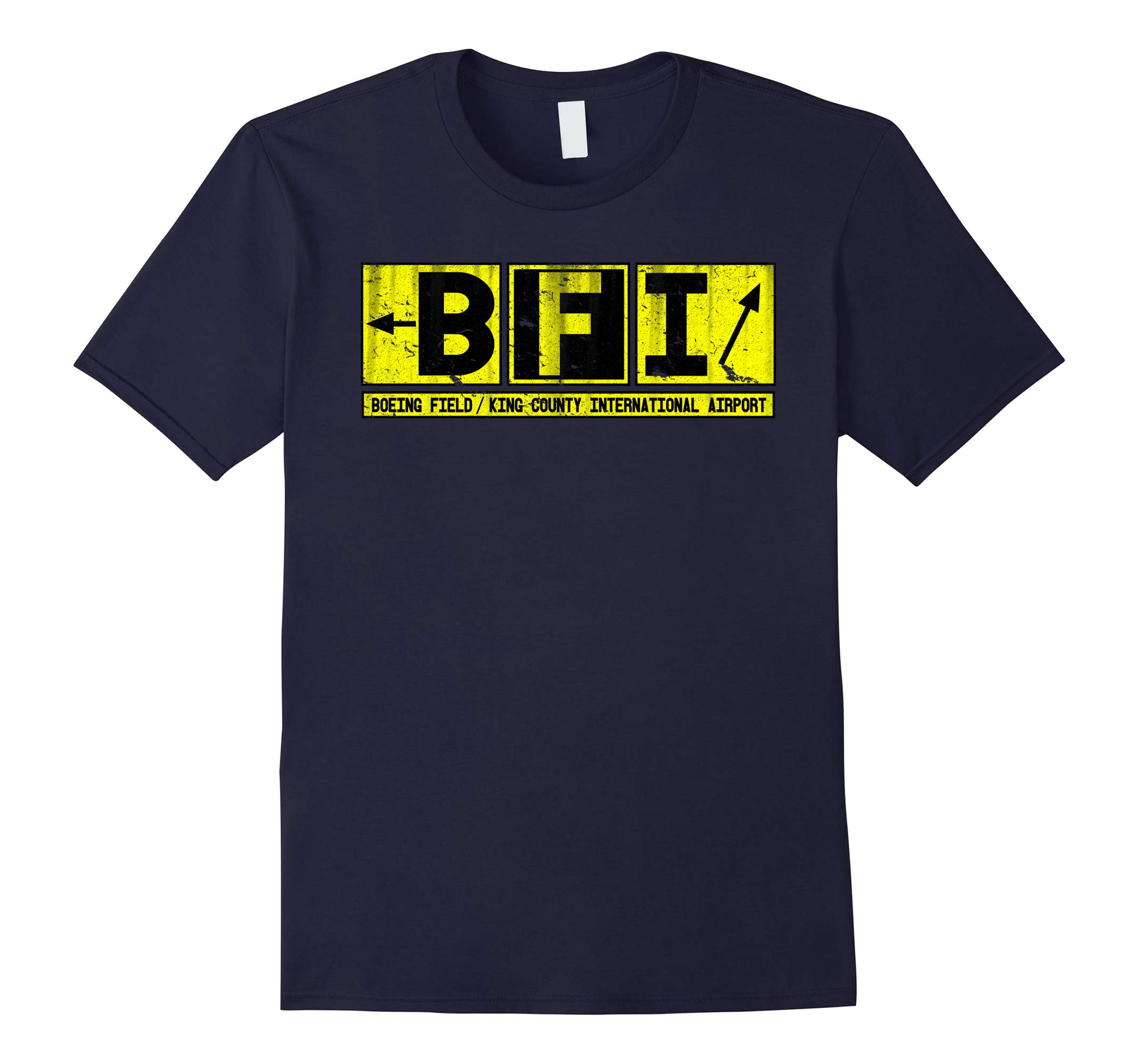 BFI King County Int'l Airport Taxiway Sign Tee-RT