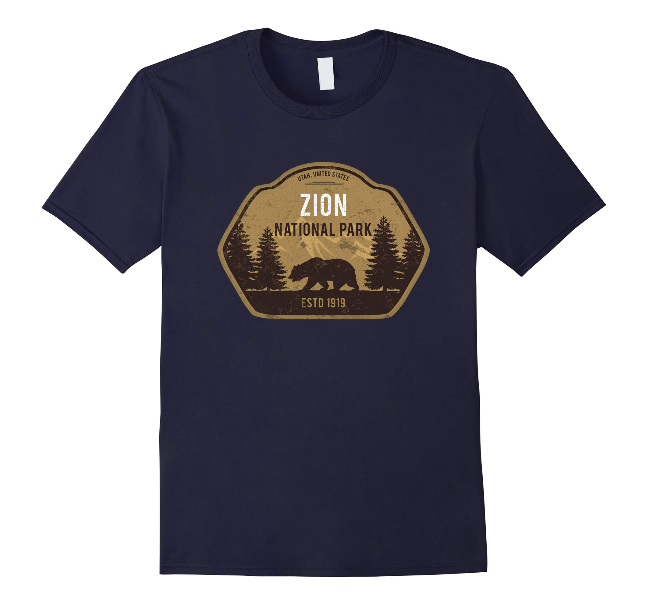 Zion National Park Utah T-Shirt Vintage Tee-RT