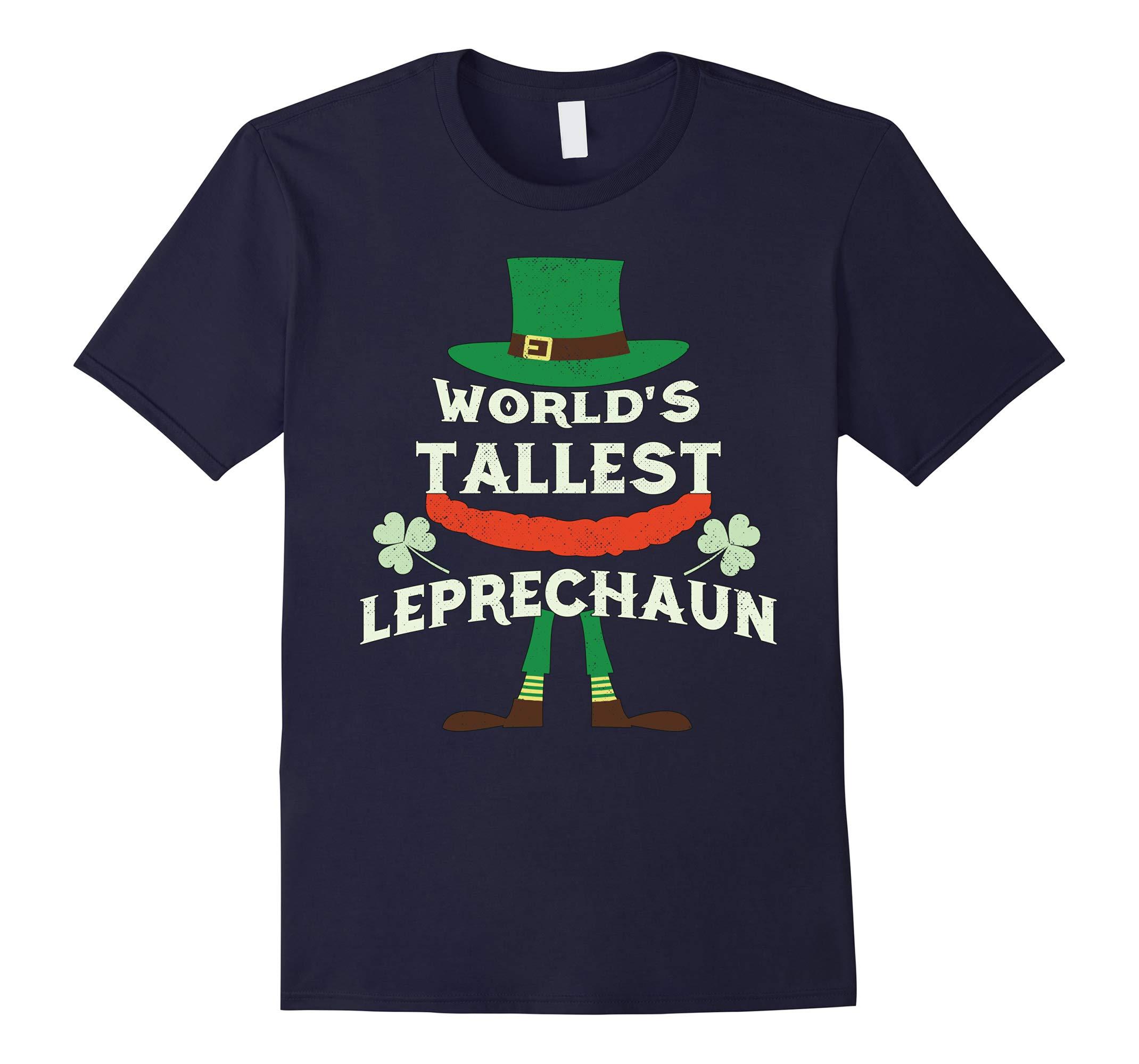 World's Tallest Leprechaun Shirt - St Patrick's Day T-Shirt-RT