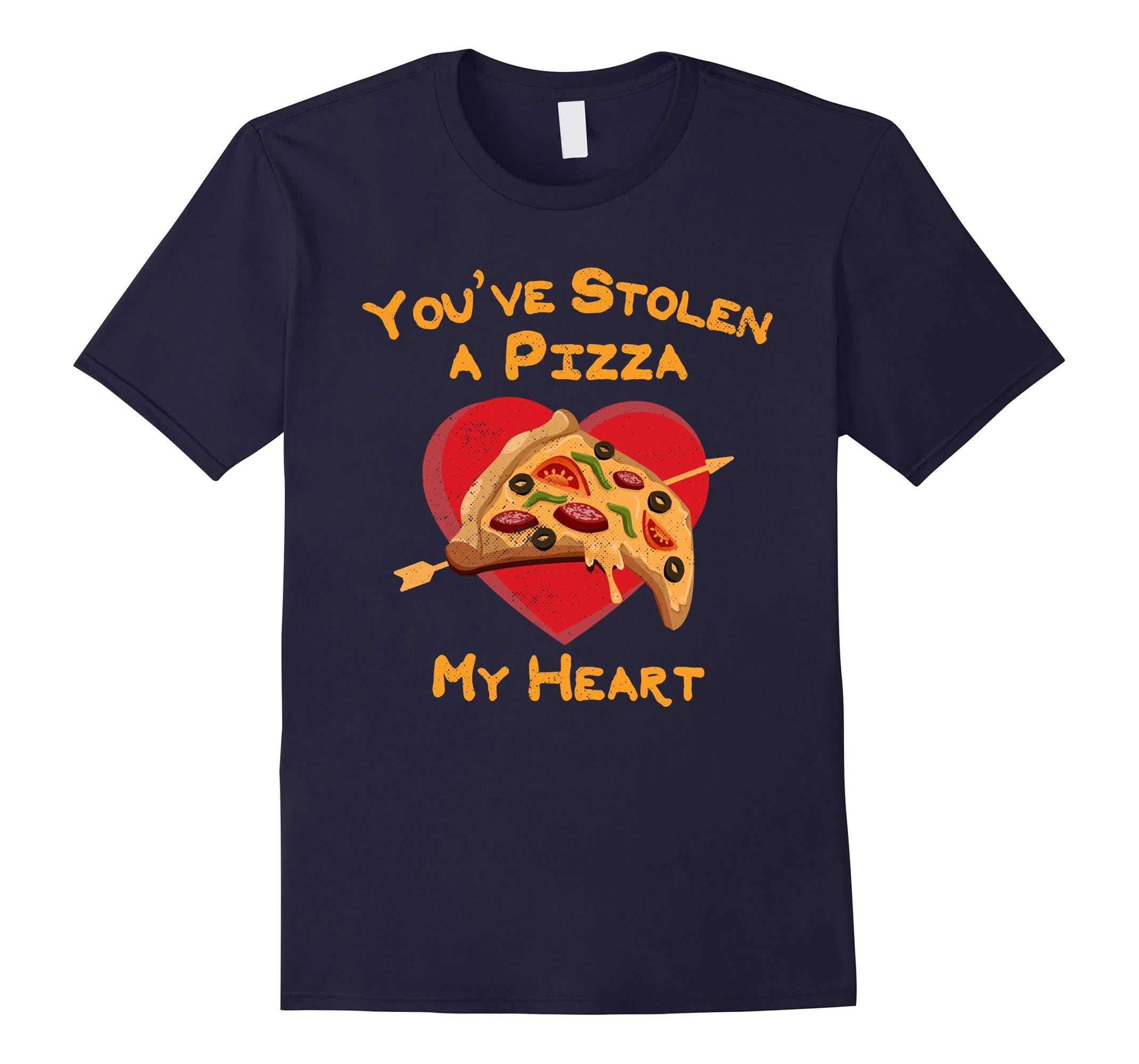 You've Stolen A Pizza My Heart Valentine's Day Shirt-RT
