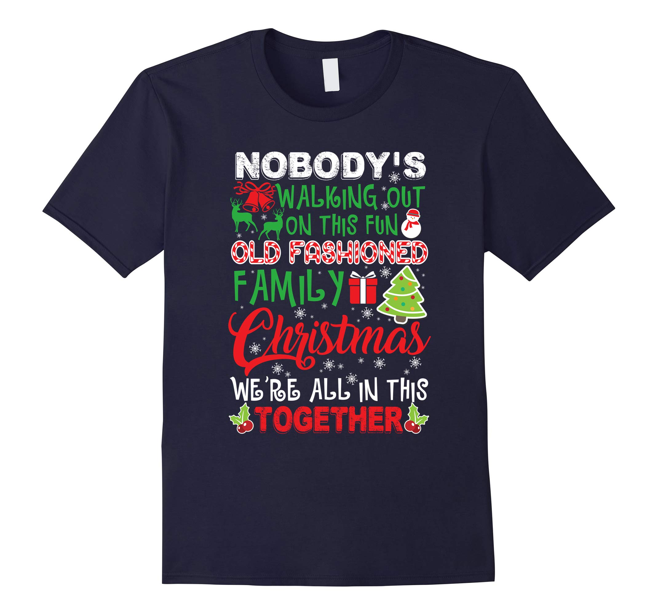 Family Christmas We're All In This Together T-Shirt-RT
