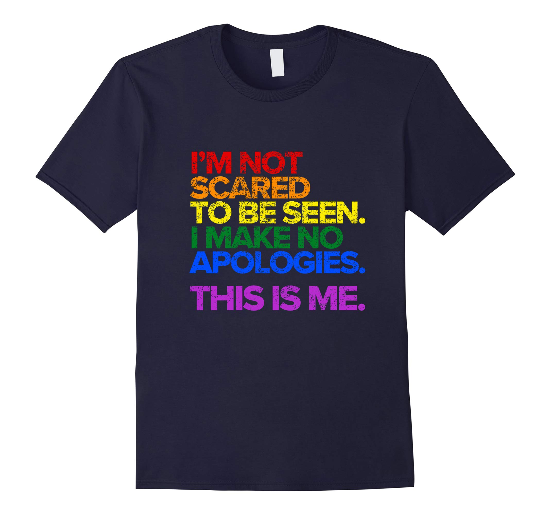 This is Me Inspirational LGBT Pride T-Shirt-RT