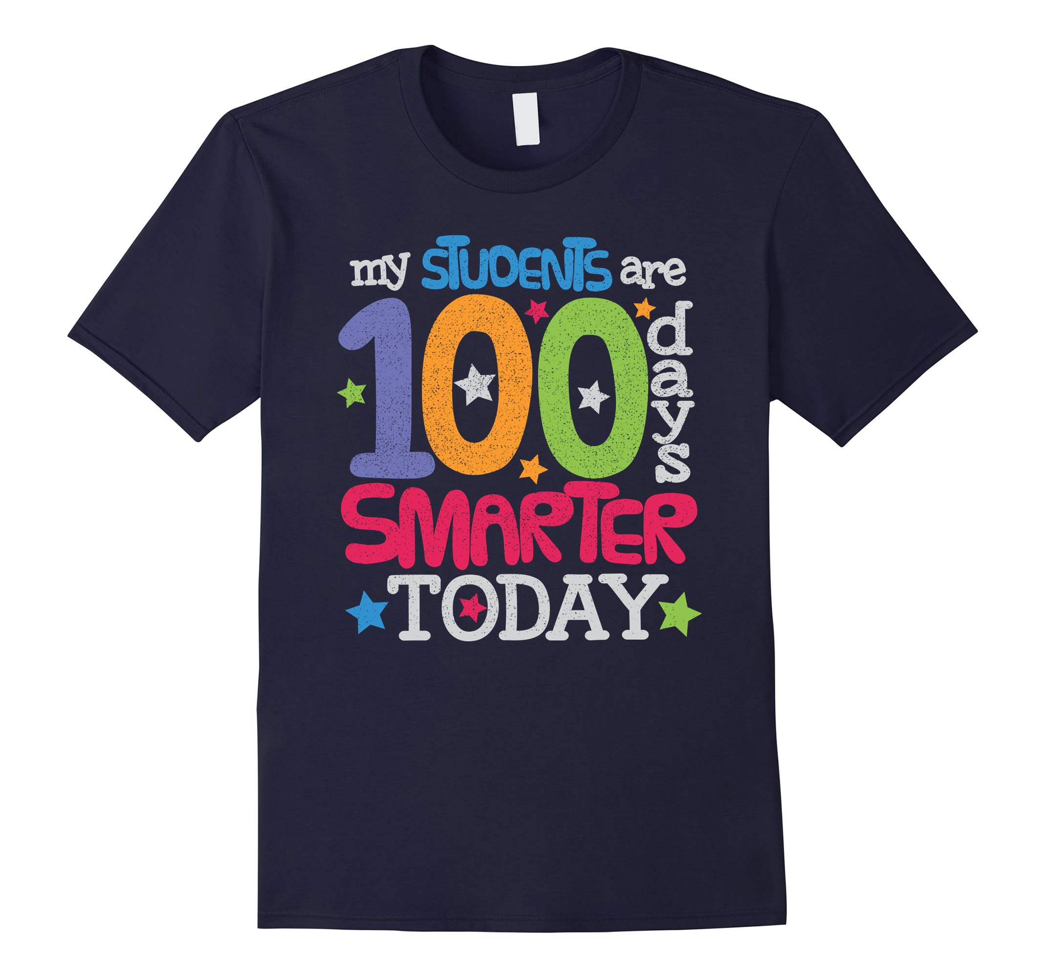 100 Days Smarter 100th Day Of School Teacher Gift Shirt-RT