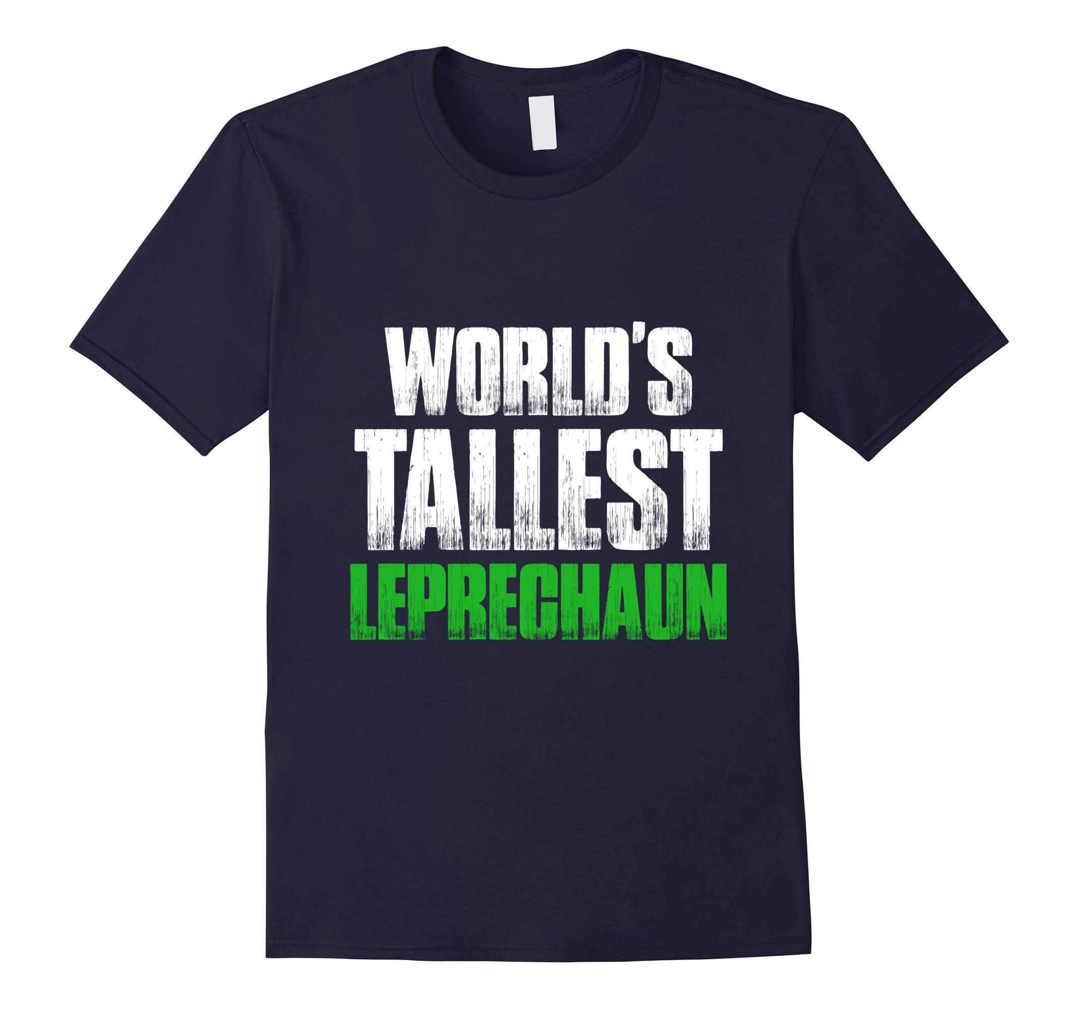 World's Tallest Leprechaun Gnomes St Patricks Day T-Shirt-RT