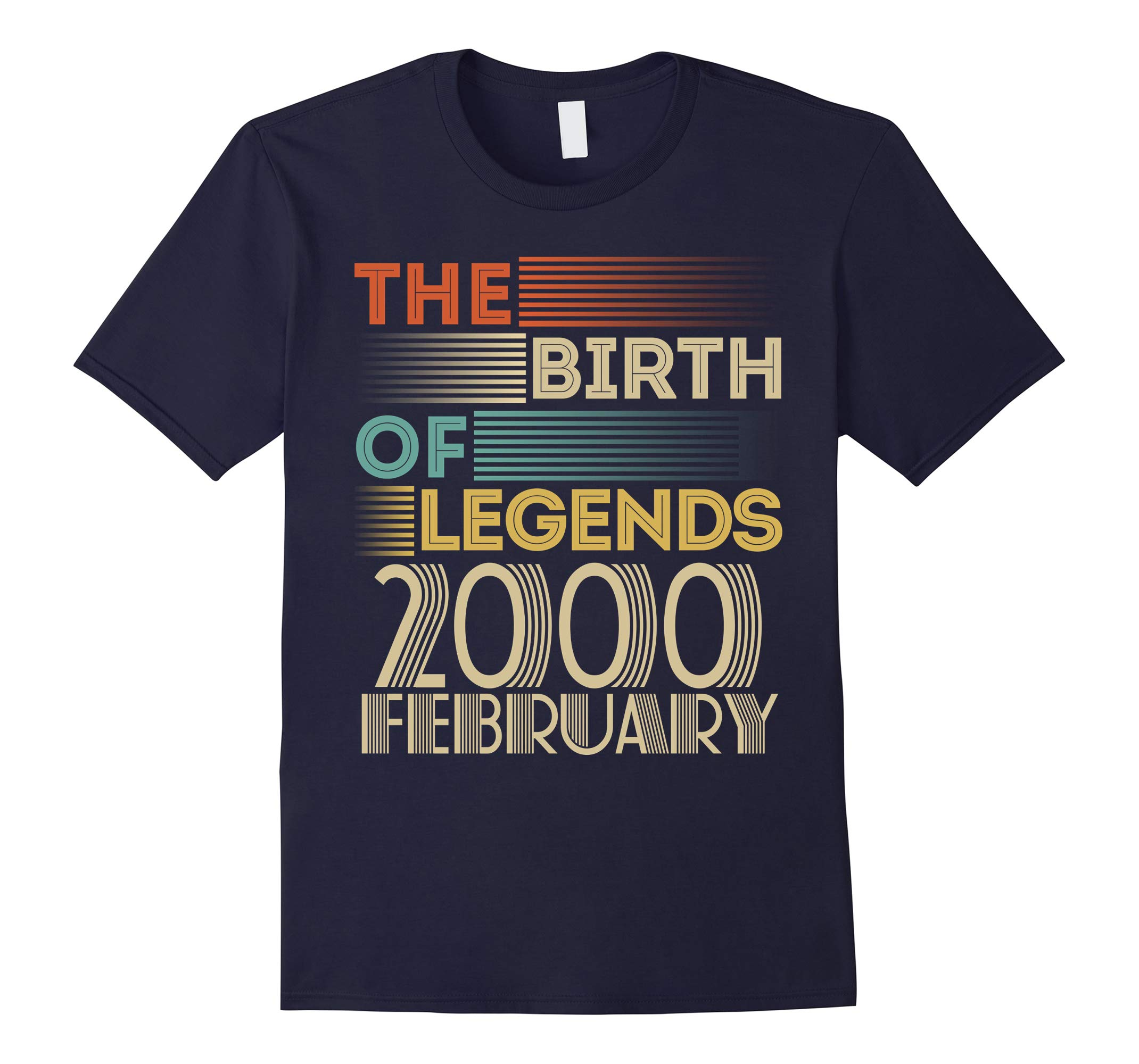 2000 FEBRUARY Vintage The Birth Of Legends 18 Yrs Years Old-RT