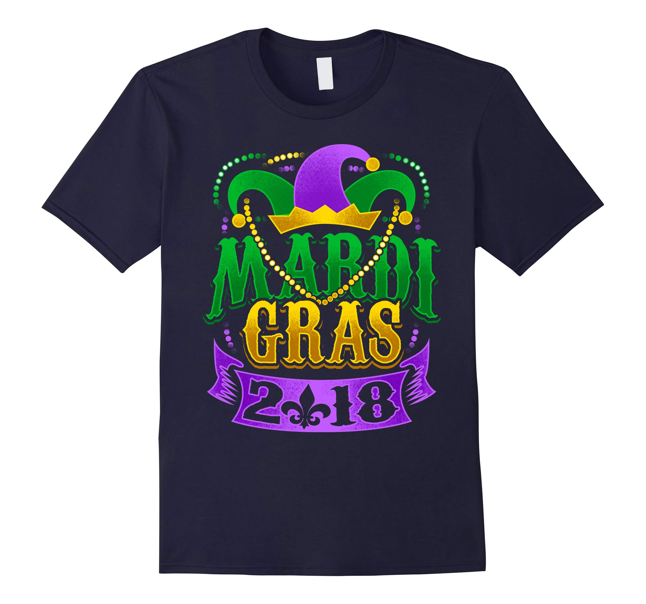Mardi Gras 2018 T Shirt Beads 2018 Mardi Gras Louisiana-RT