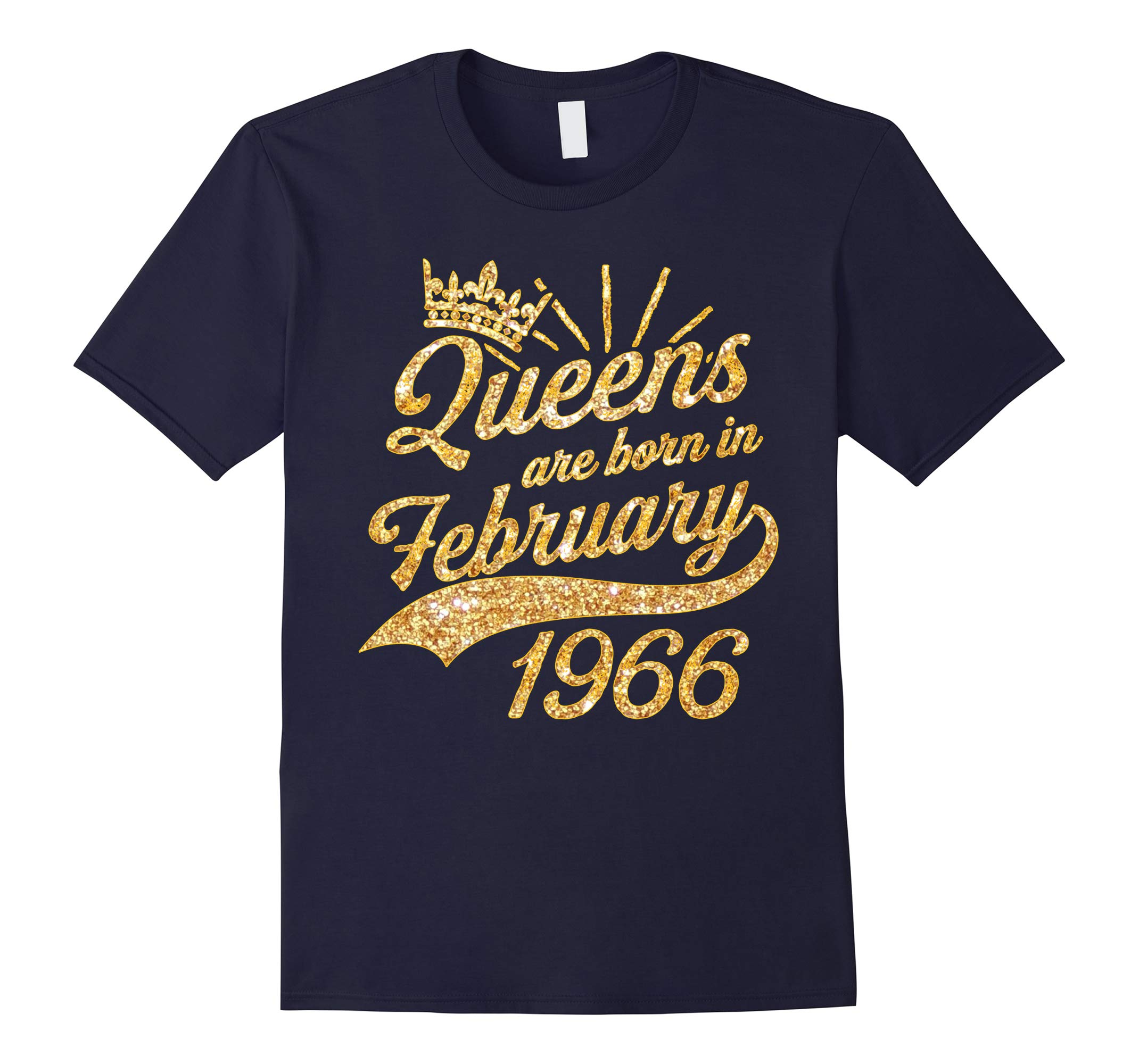 Queens born in February 1966 52nd Birthday Gift 52 years old-RT